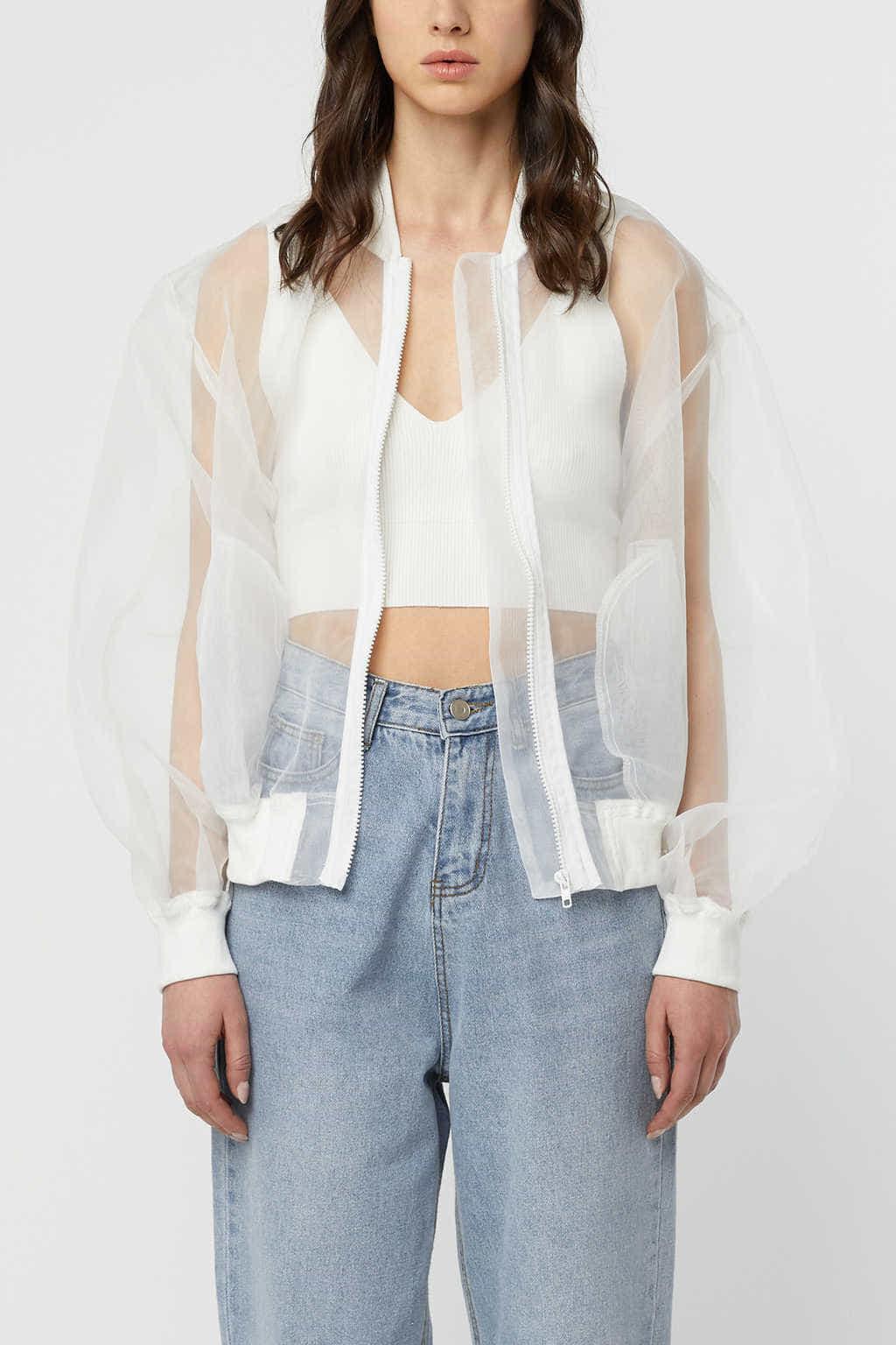 Jacket K007 Cream 2
