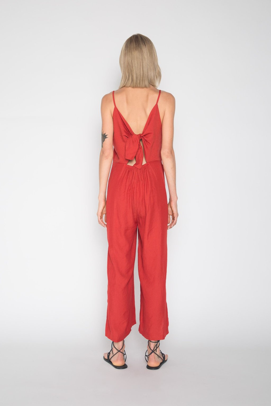Jumpsuit H077 Wine 4
