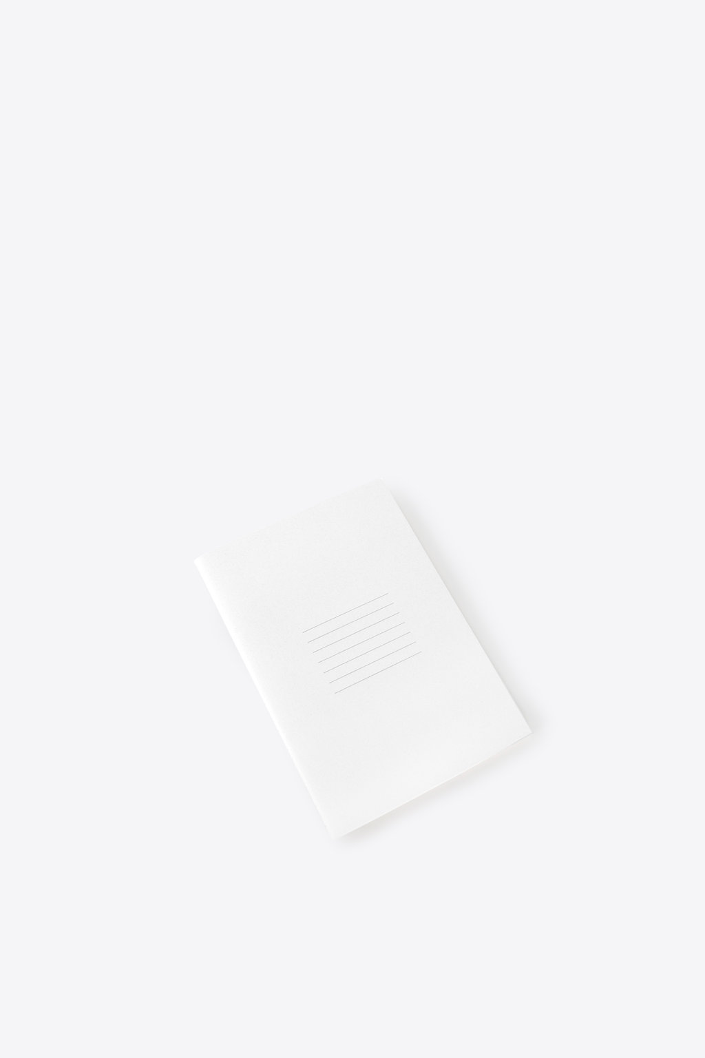 Line Print Notebook 1857 White 1