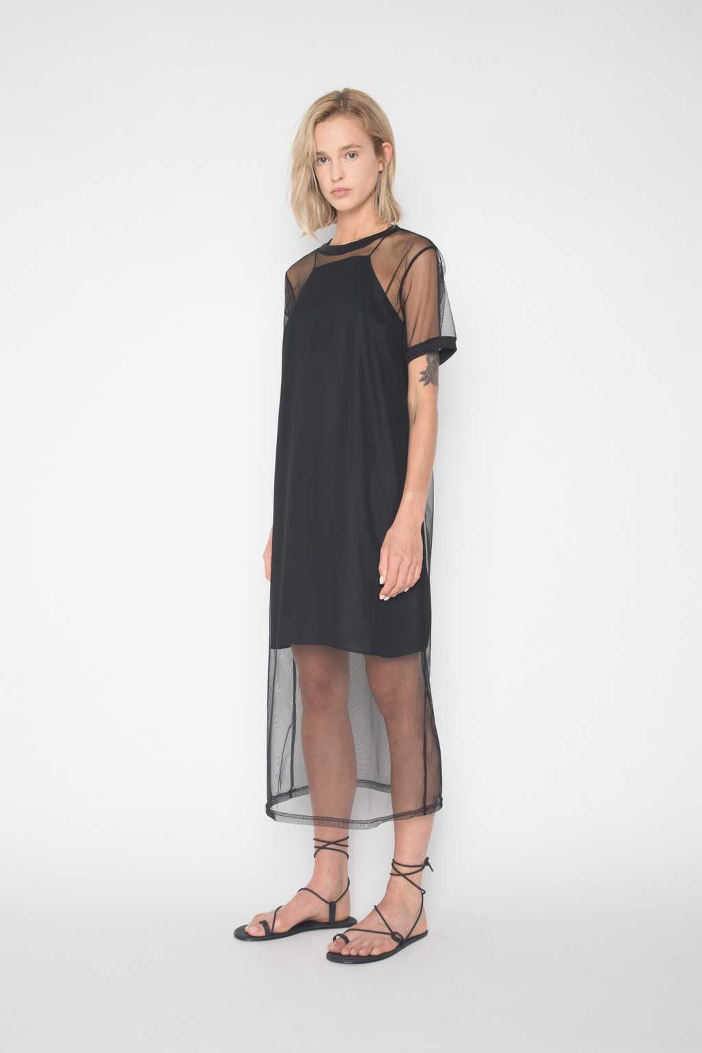 Mesh Dress H225 Black 3