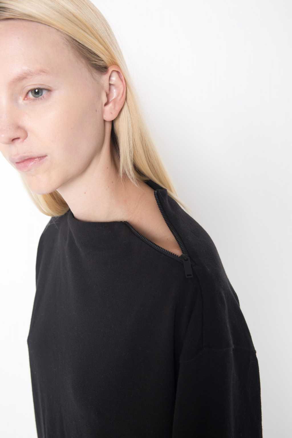 Mock Neck Sweater 1004 Black 2