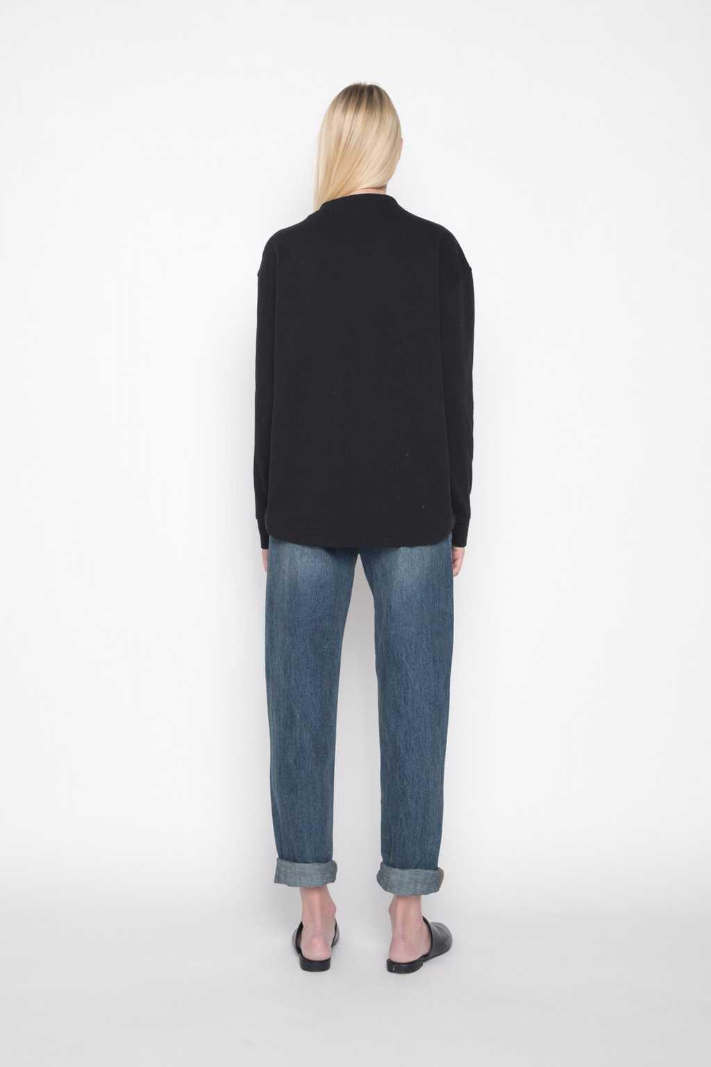 Mock Neck Sweater 1004 Black 4