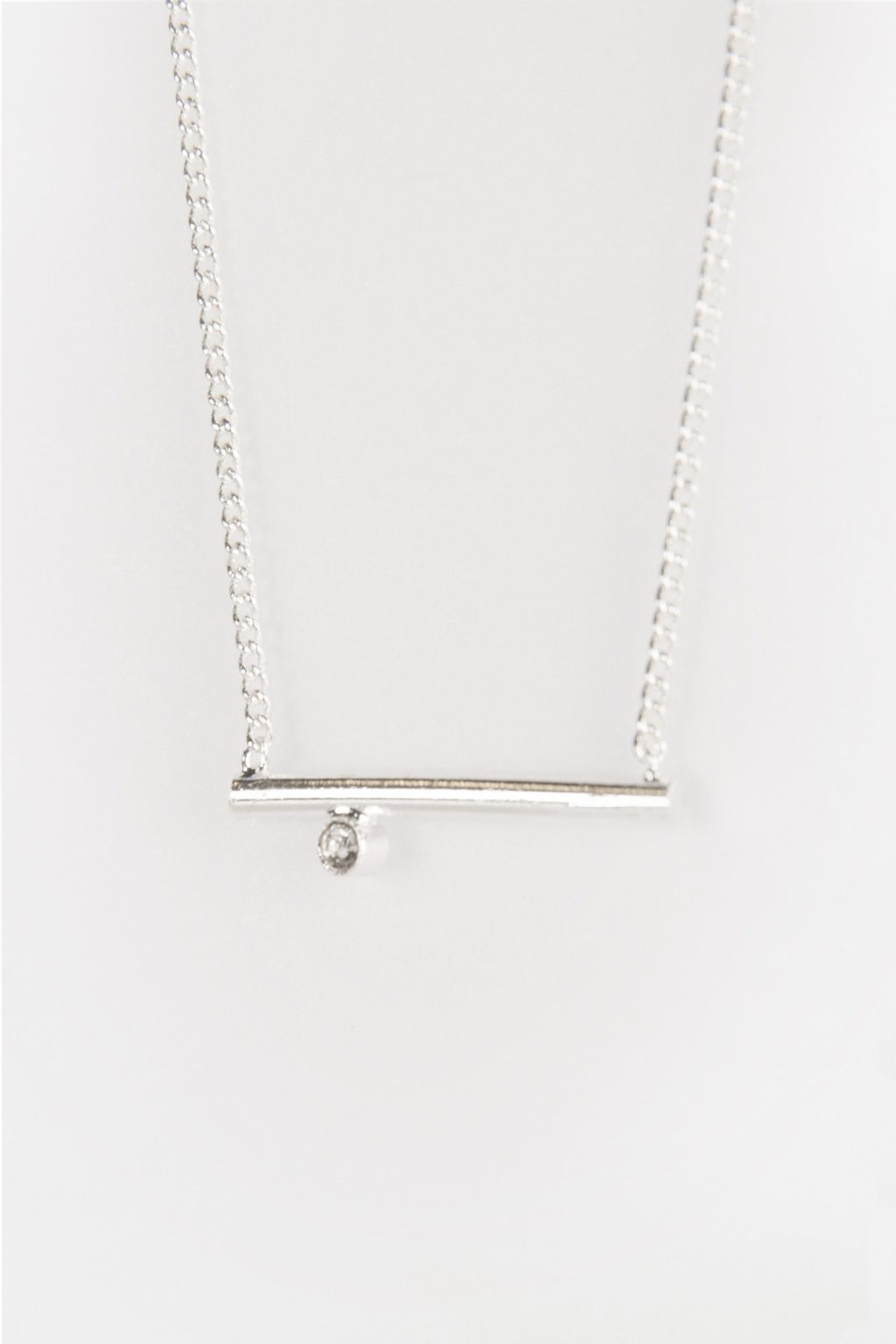 Necklace 92034 Silver 2