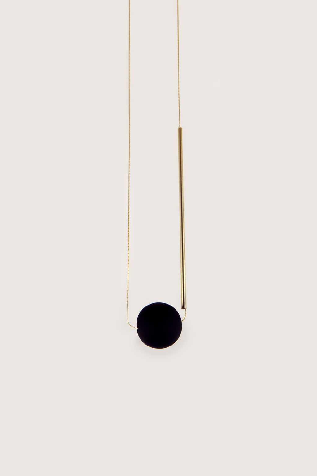 Necklace H014 Black 1