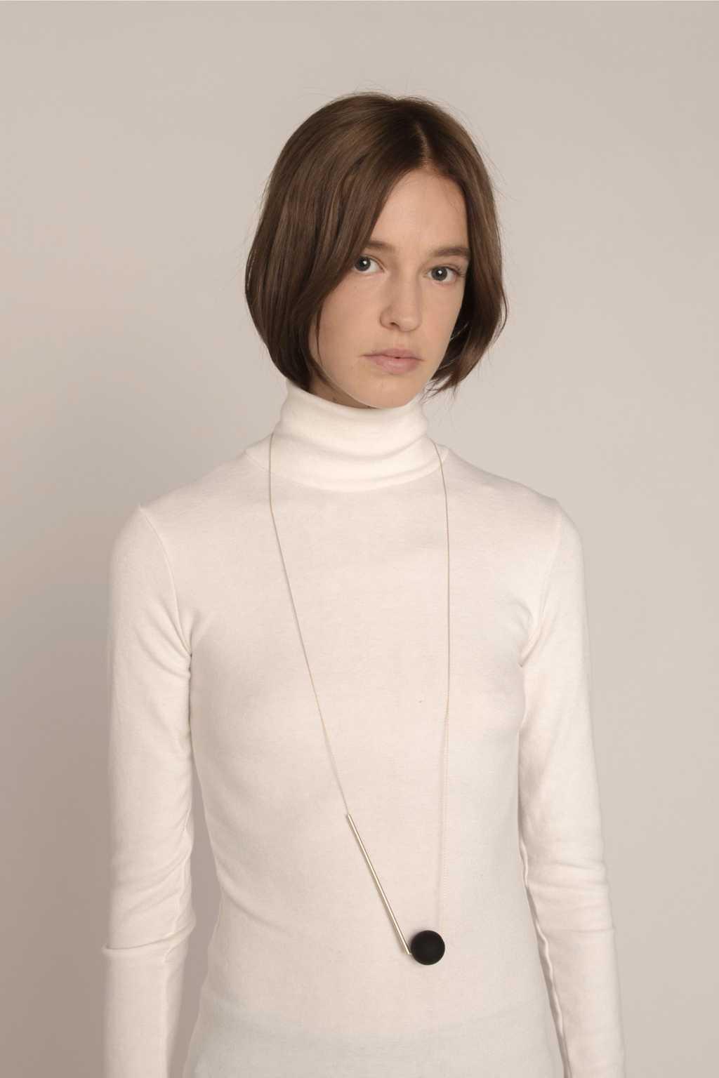 Necklace H014 Black 2