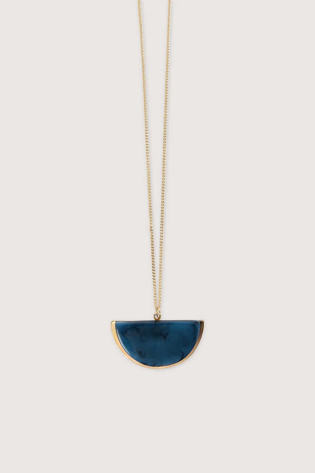 Necklace H016 Blue 3