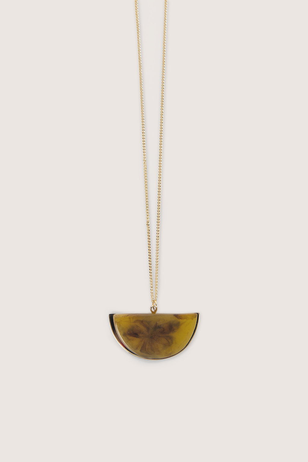Necklace H016 Brown 2
