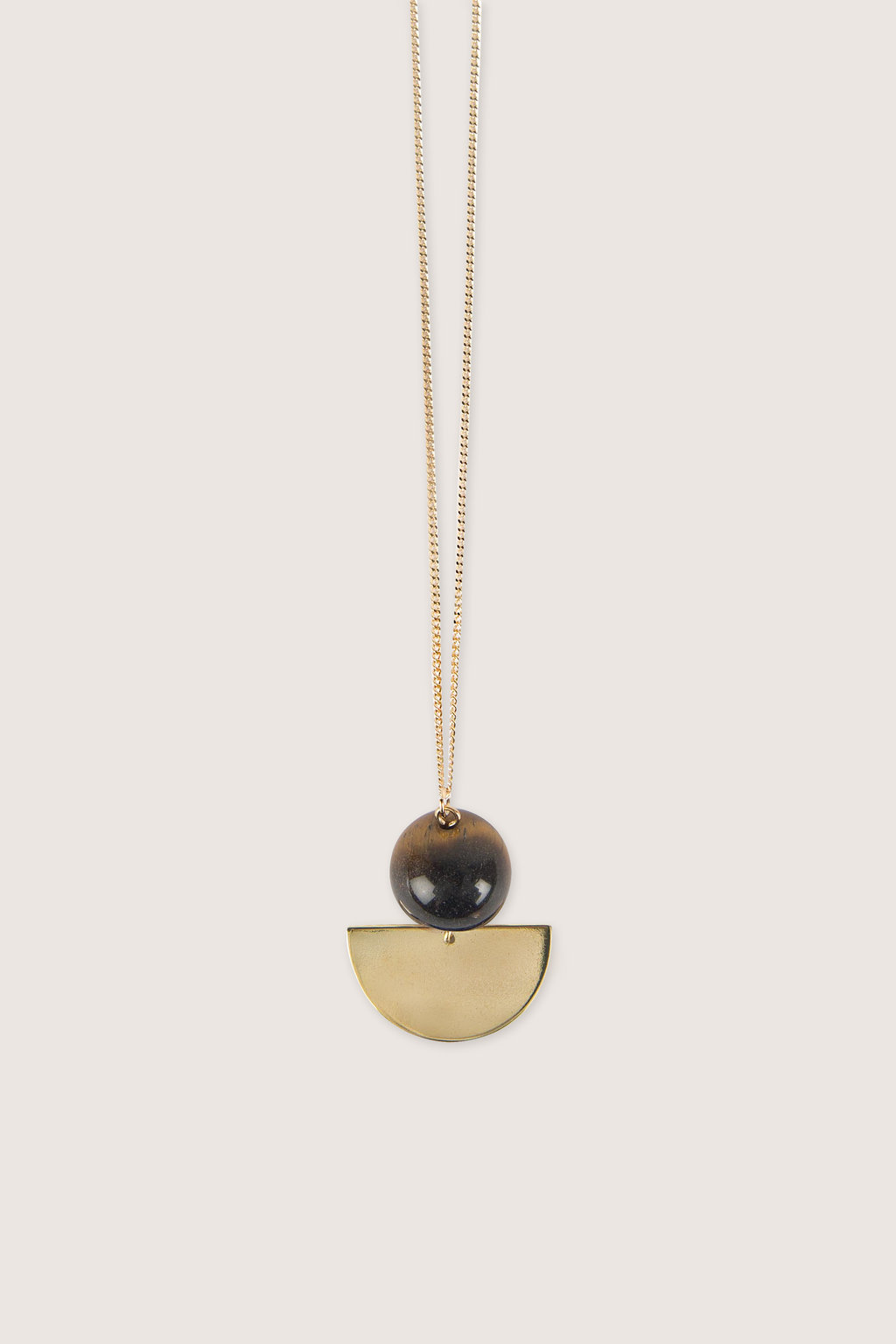 Necklace H017 Brown 1