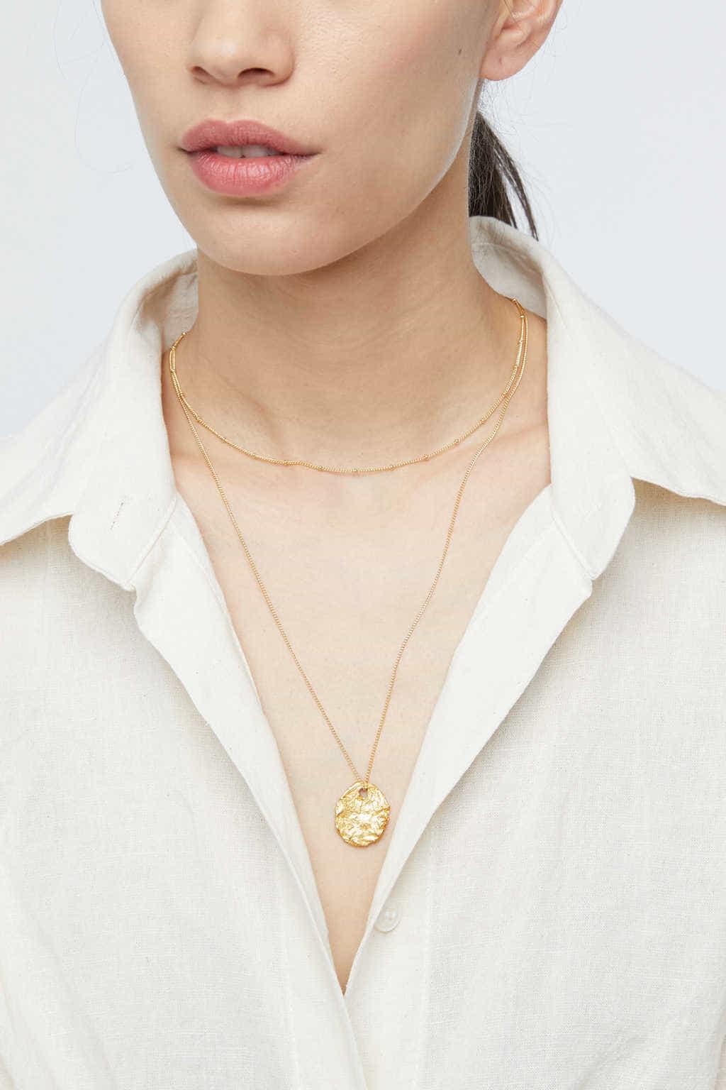 Necklace K002 Gold 1
