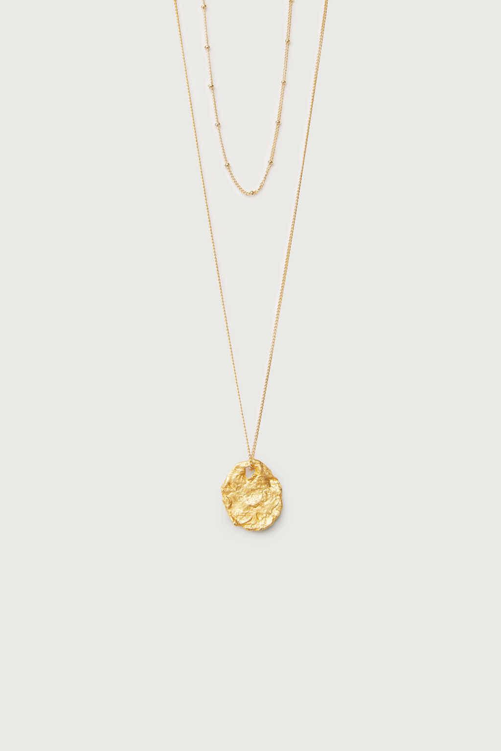 Necklace K002 Gold 2