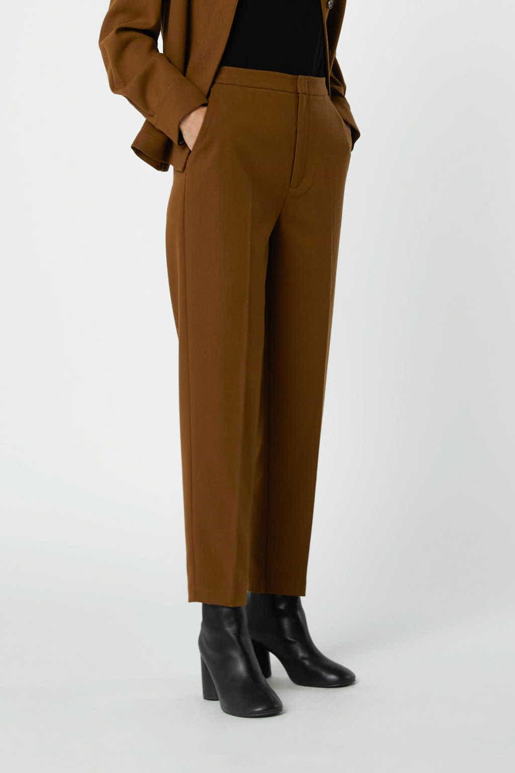 Pant 2766 Brown 1