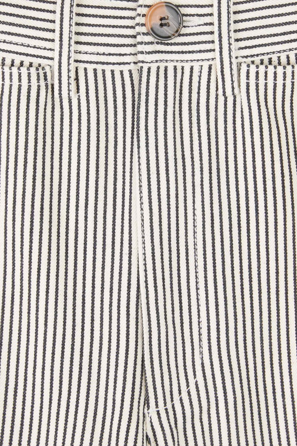 Pant 3430 White Black Stripe 6