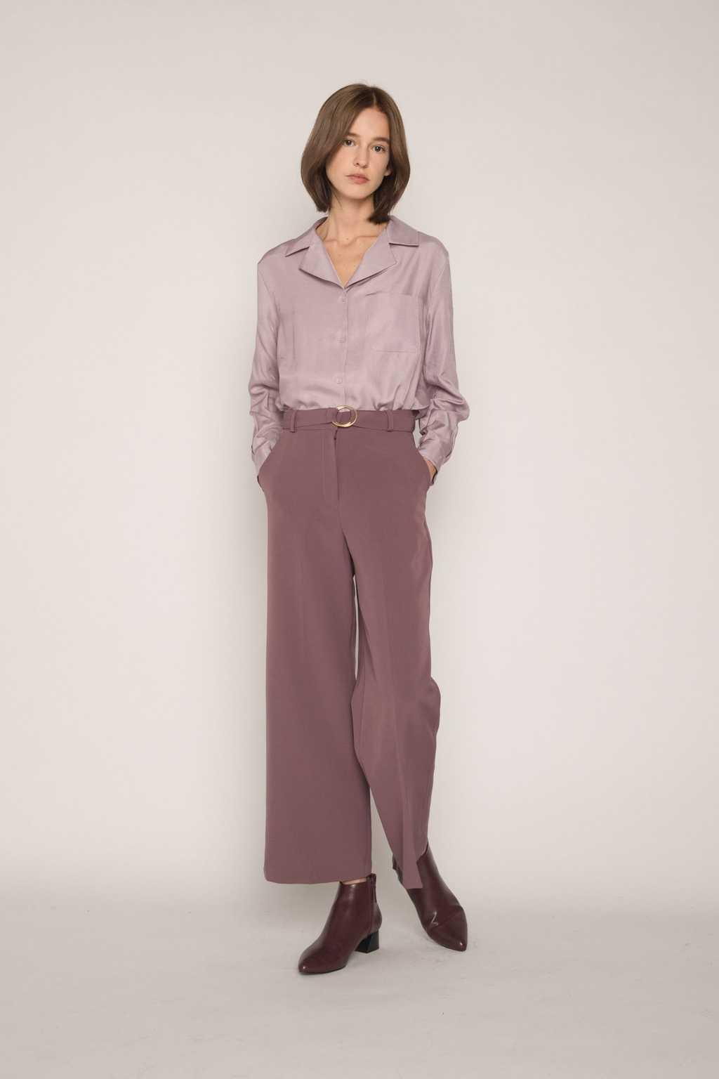 Pant H289 Purple 2