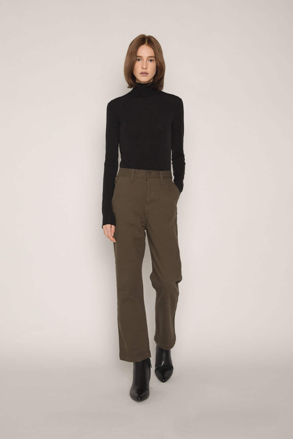 Pant H306 Olive 3