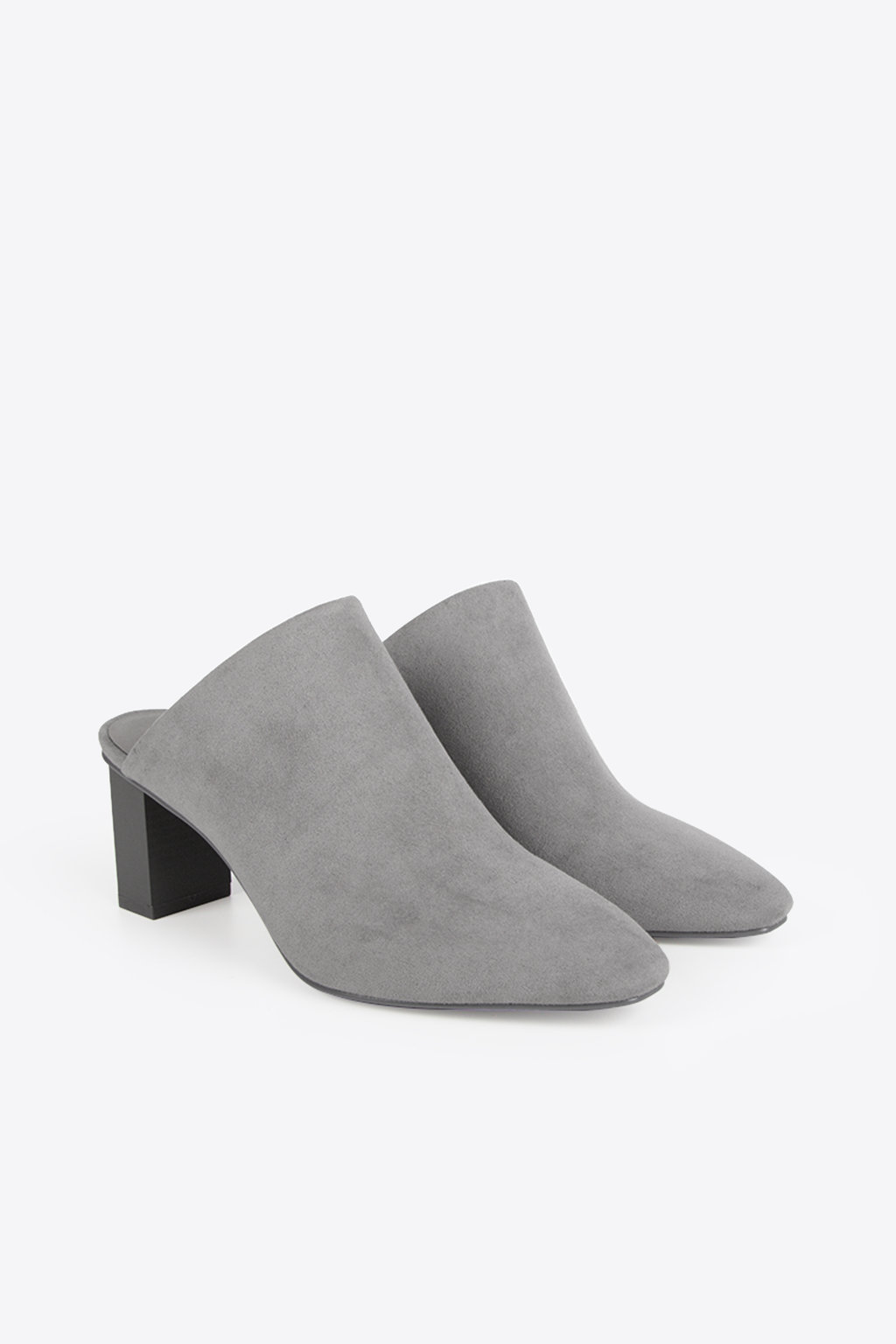 Pointed Mule 1257 Gray 12