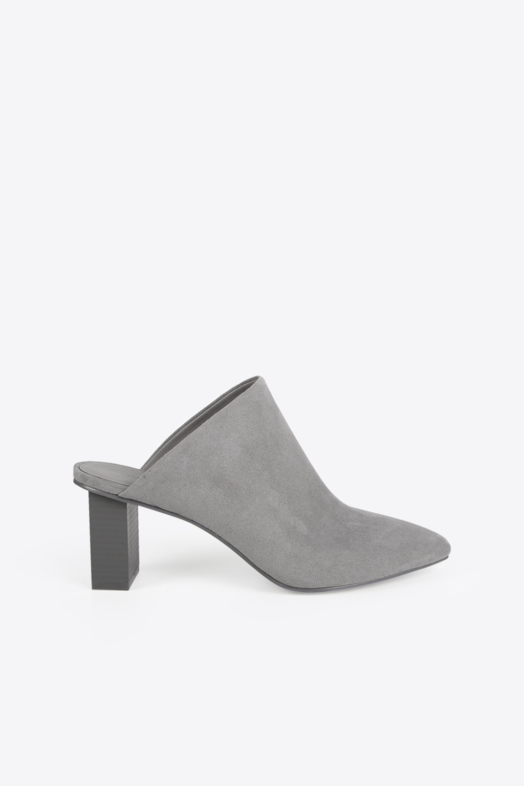 Pointed Mule 1257 Gray 9