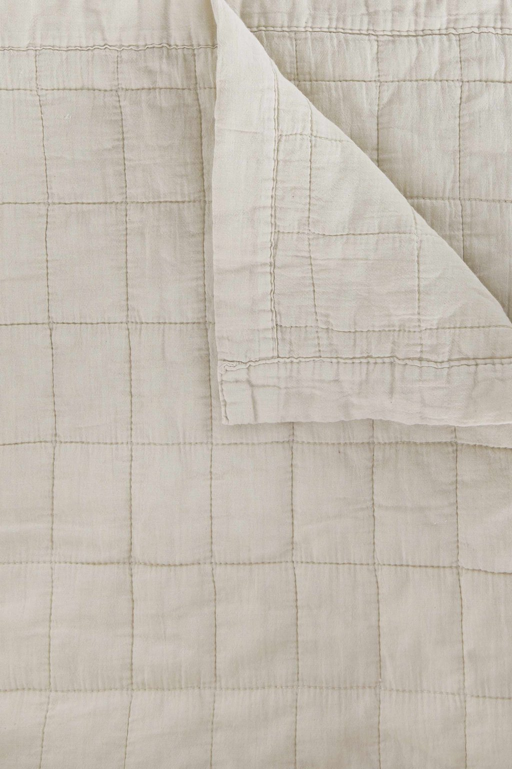 Quilted Blanket 3346 Cream 3