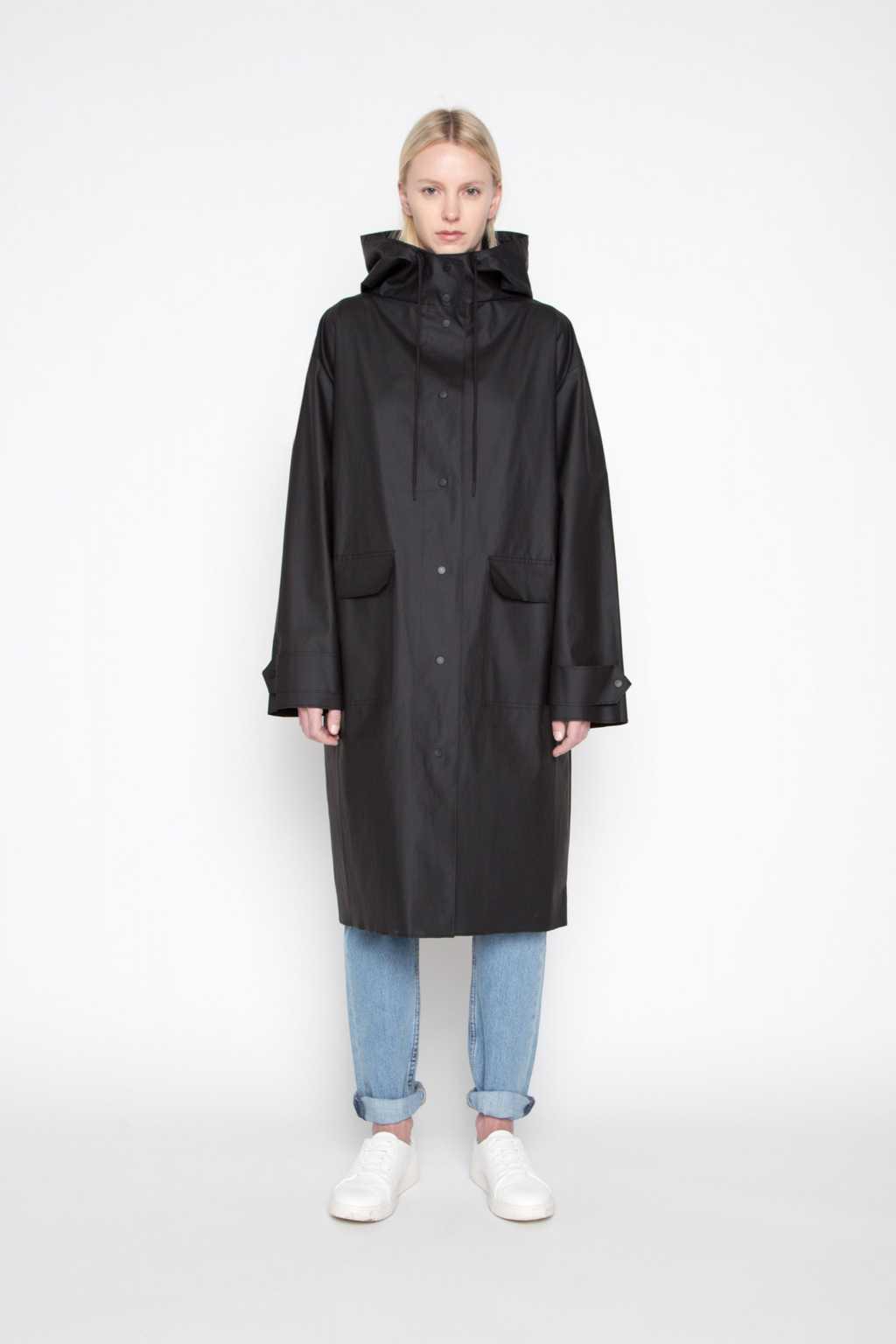Rain Coat 1062 Black 2