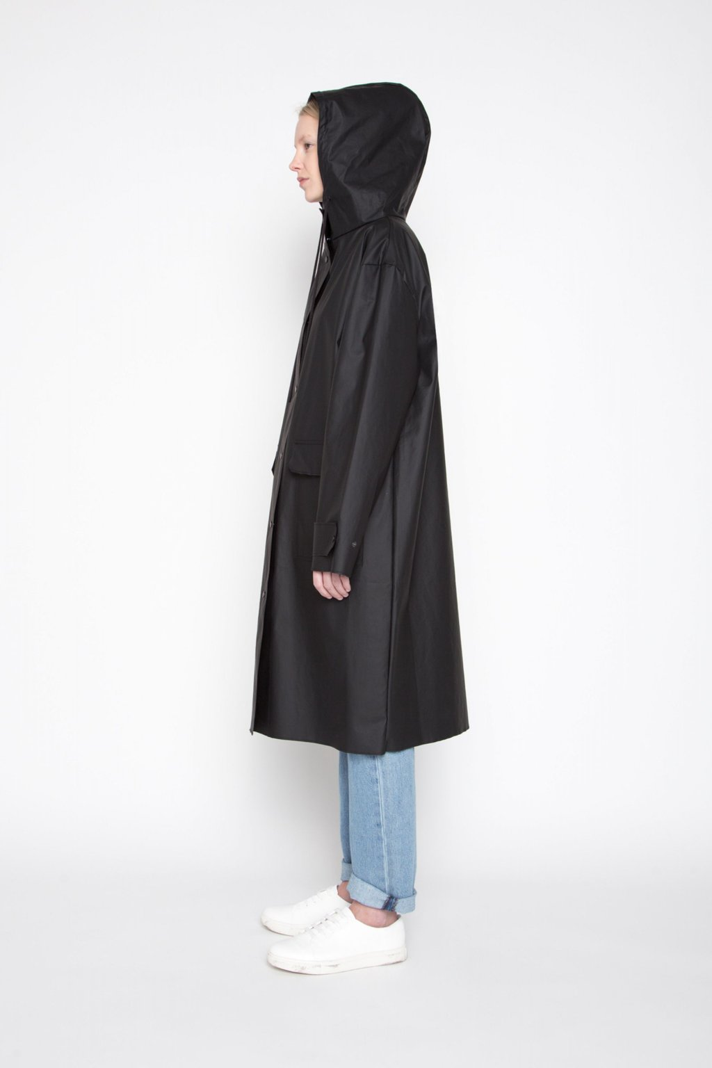 Rain Coat 1062 Black 3