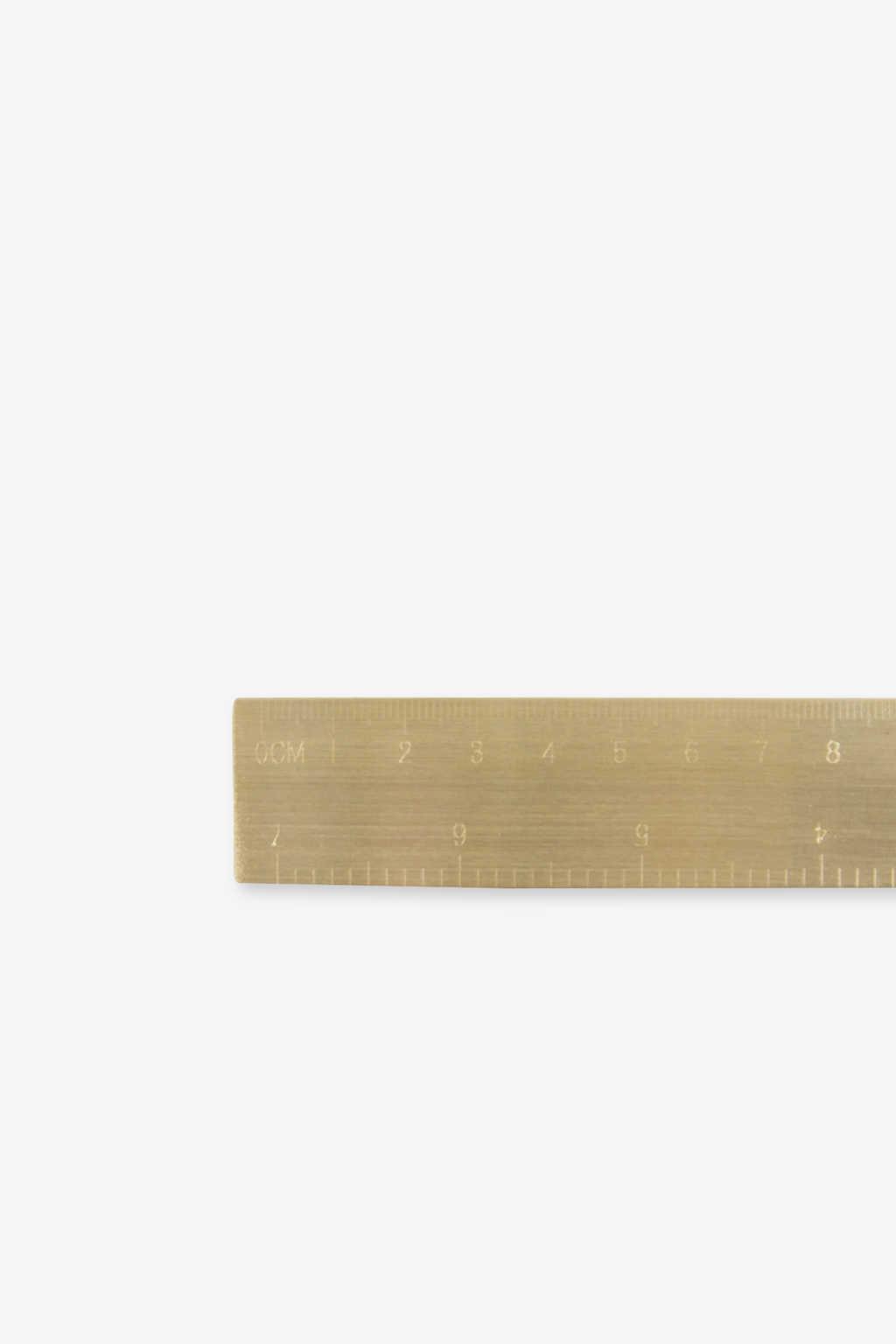 Ruler 2380 Brass 3