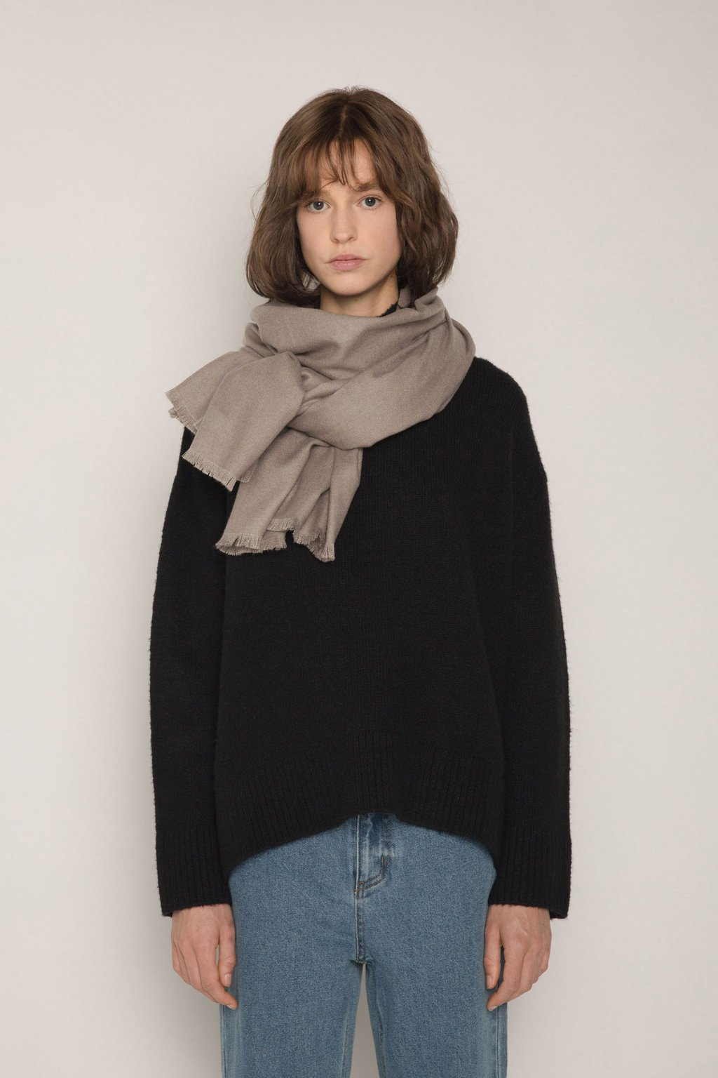 Scarf 1901 Taupe 1