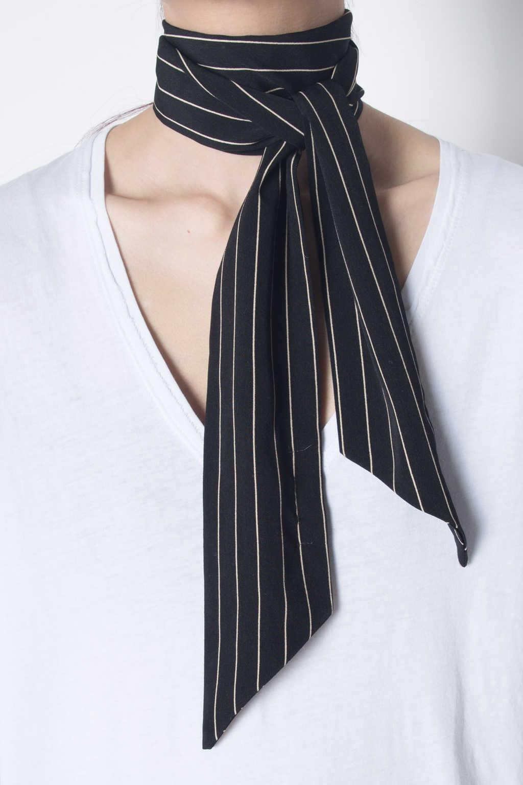 Scarf H015 Black 6