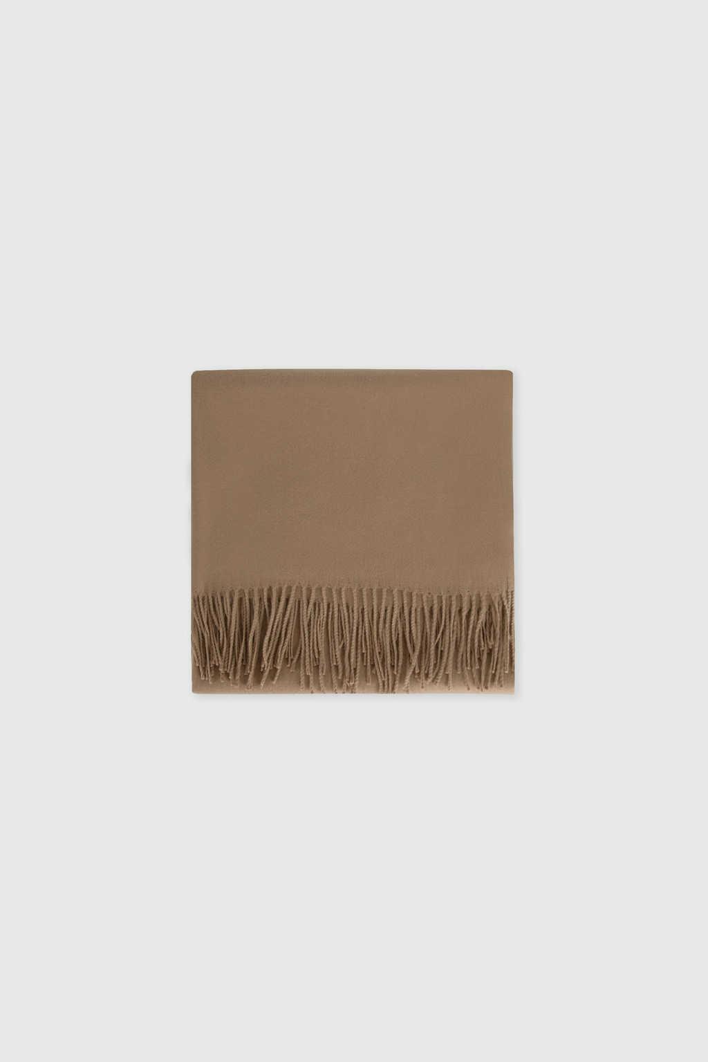 Scarf J001 Brown 11