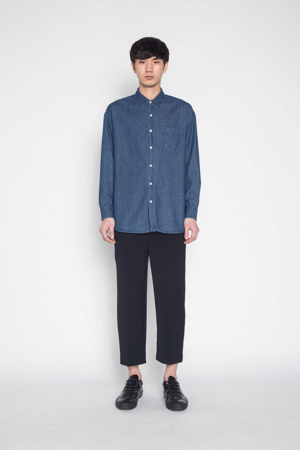 Shirt G006 Indigo 1