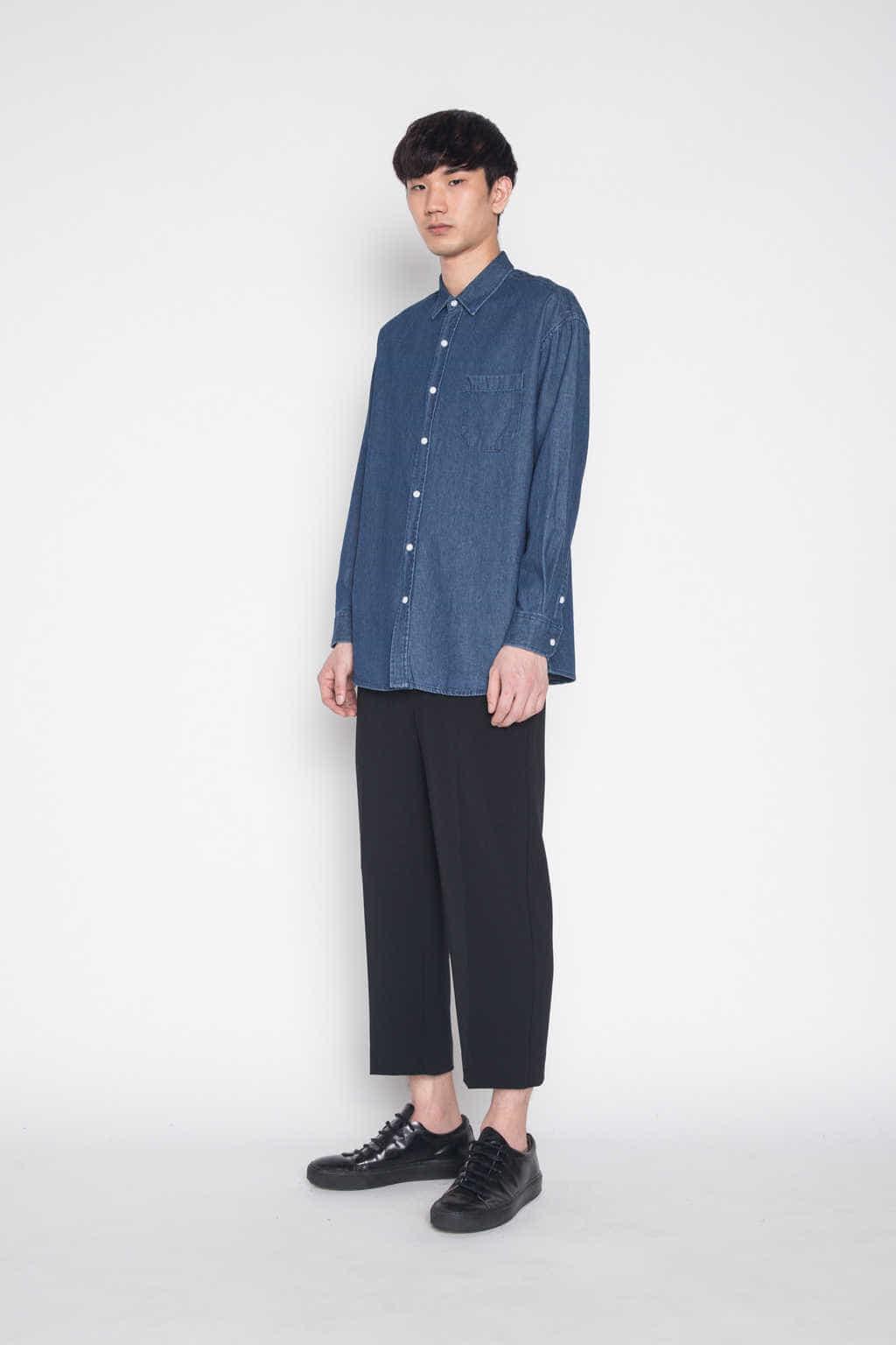 Shirt G006 Indigo 3