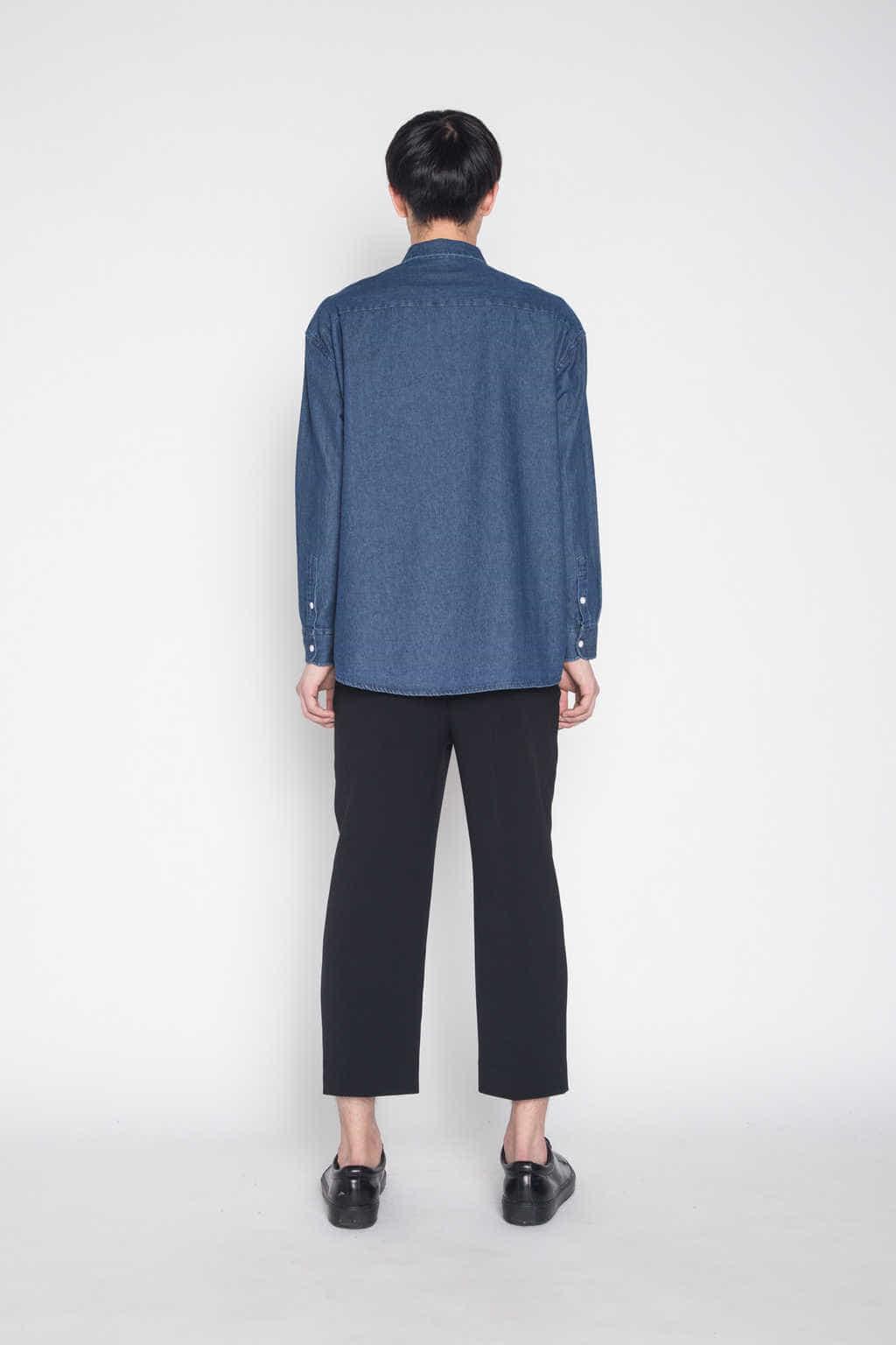 Shirt G006 Indigo 4
