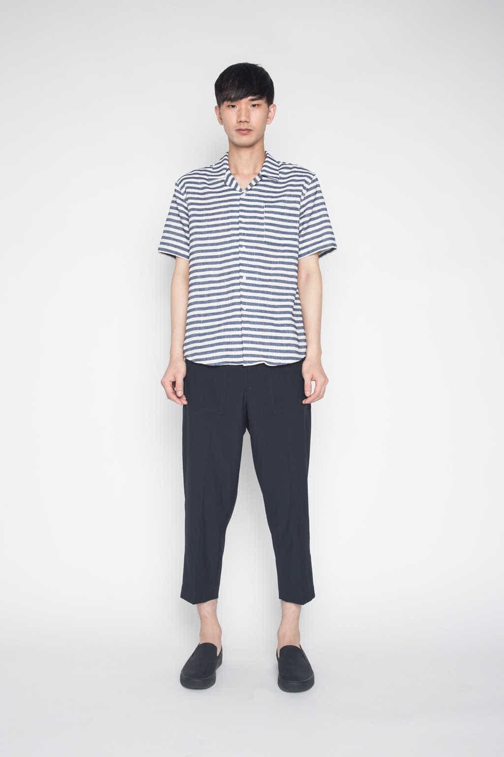 Shirt H021 Navy 1