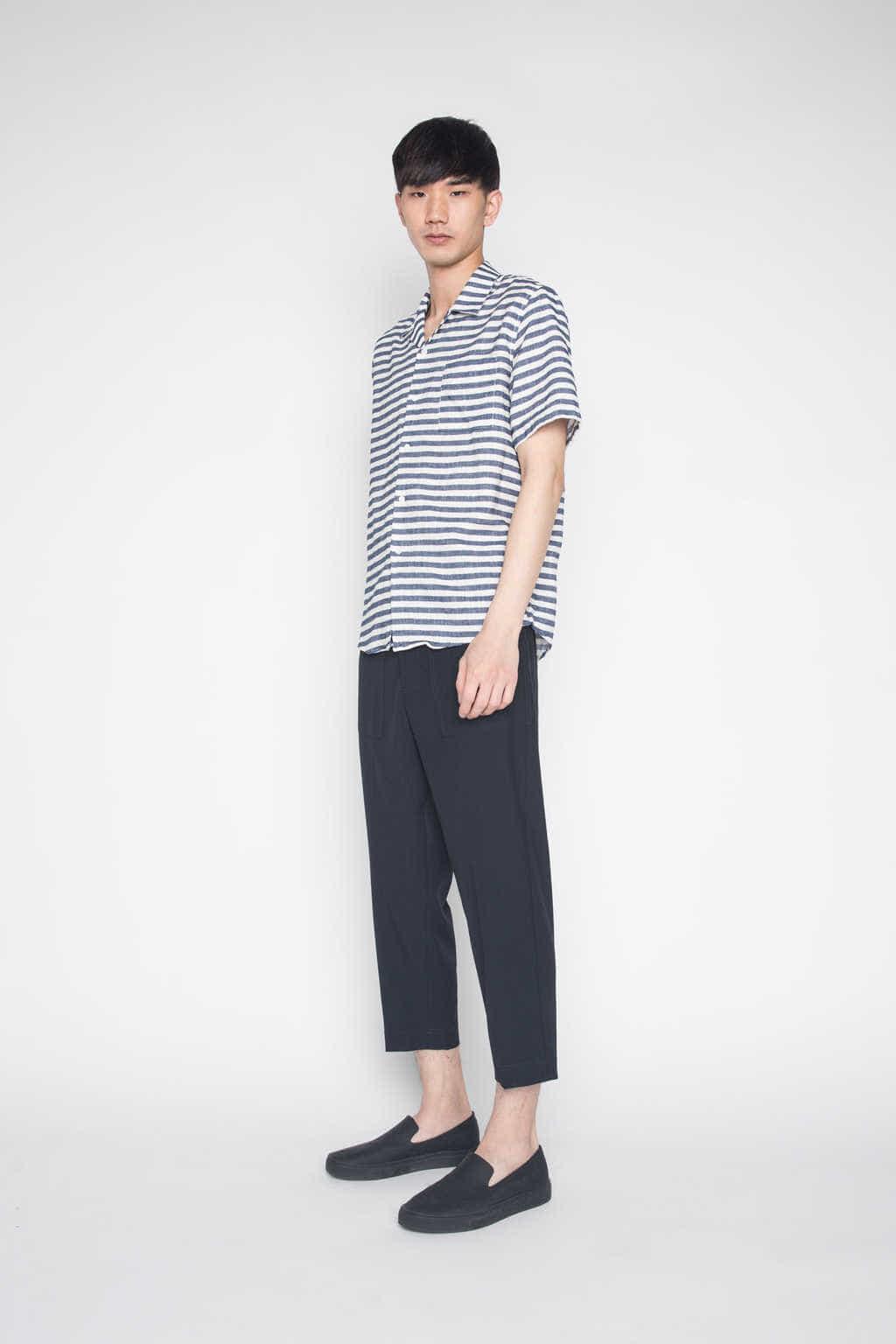 Shirt H021 Navy 3