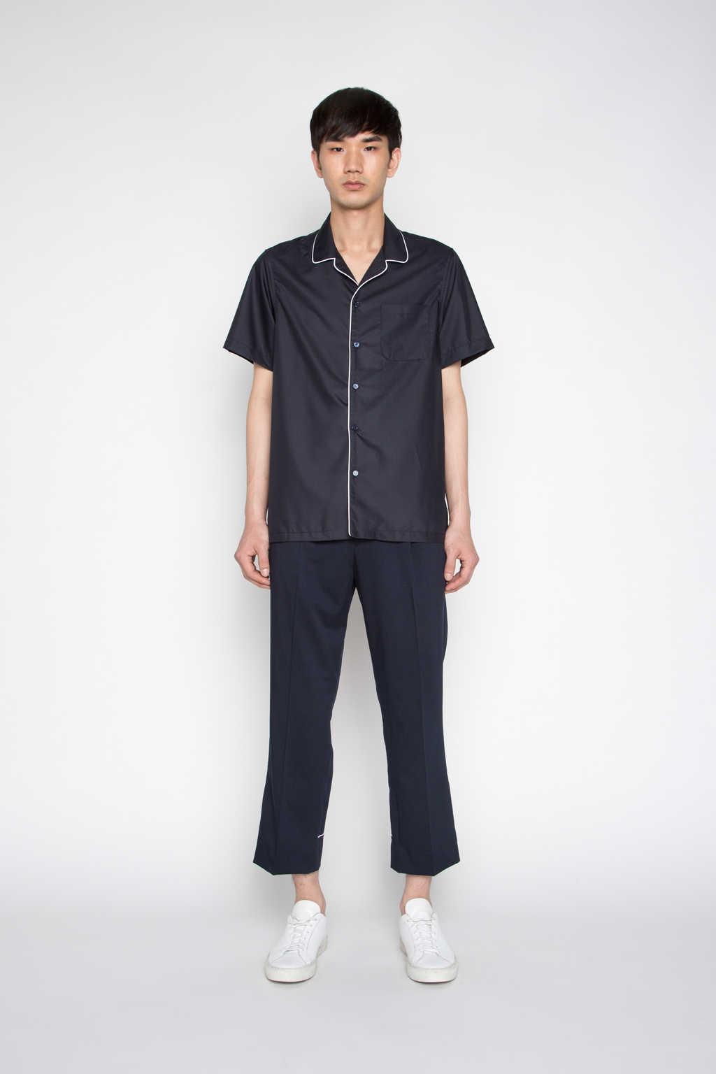 Shirt H022 Navy 2
