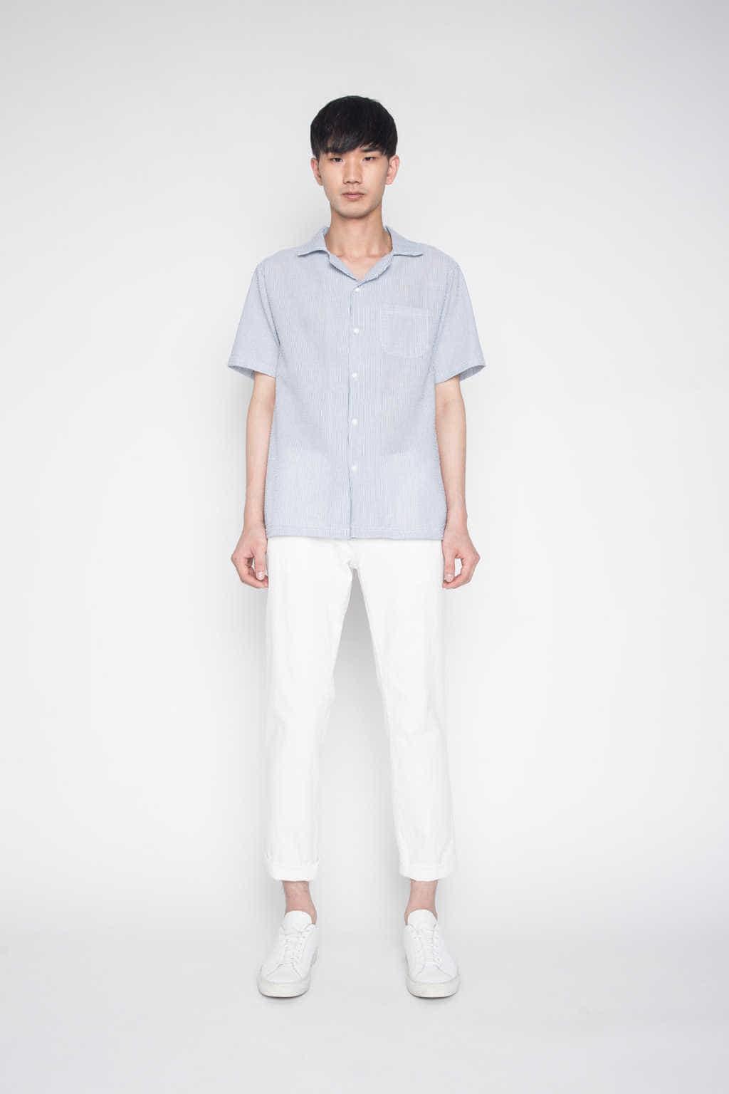 Shirt H028 Navy 1