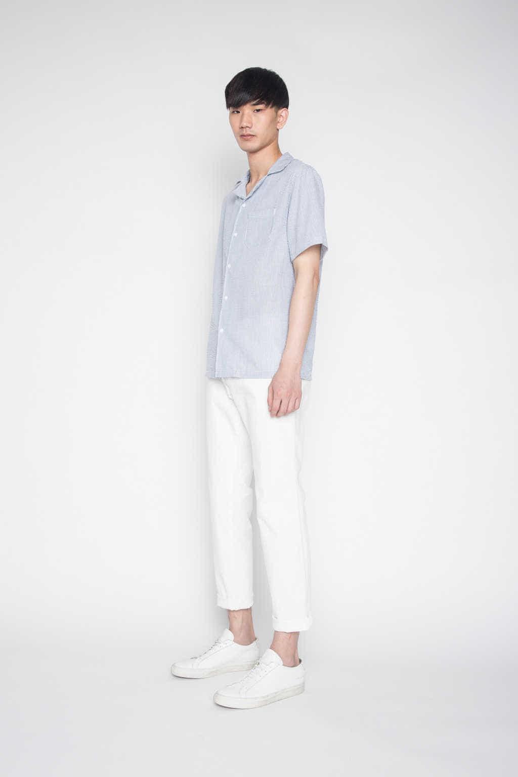 Shirt H028 Navy 3