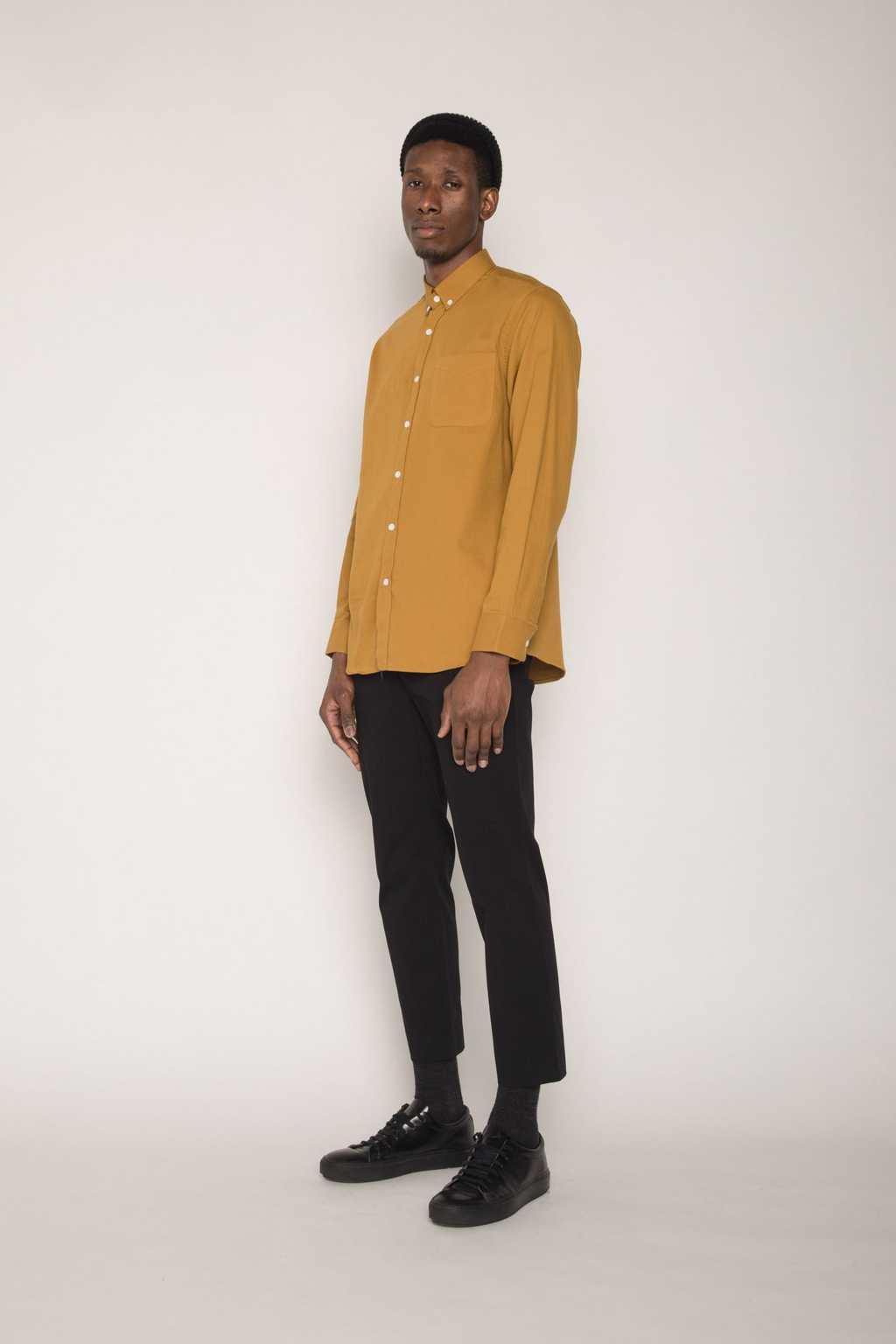 Shirt H059 Mustard 1