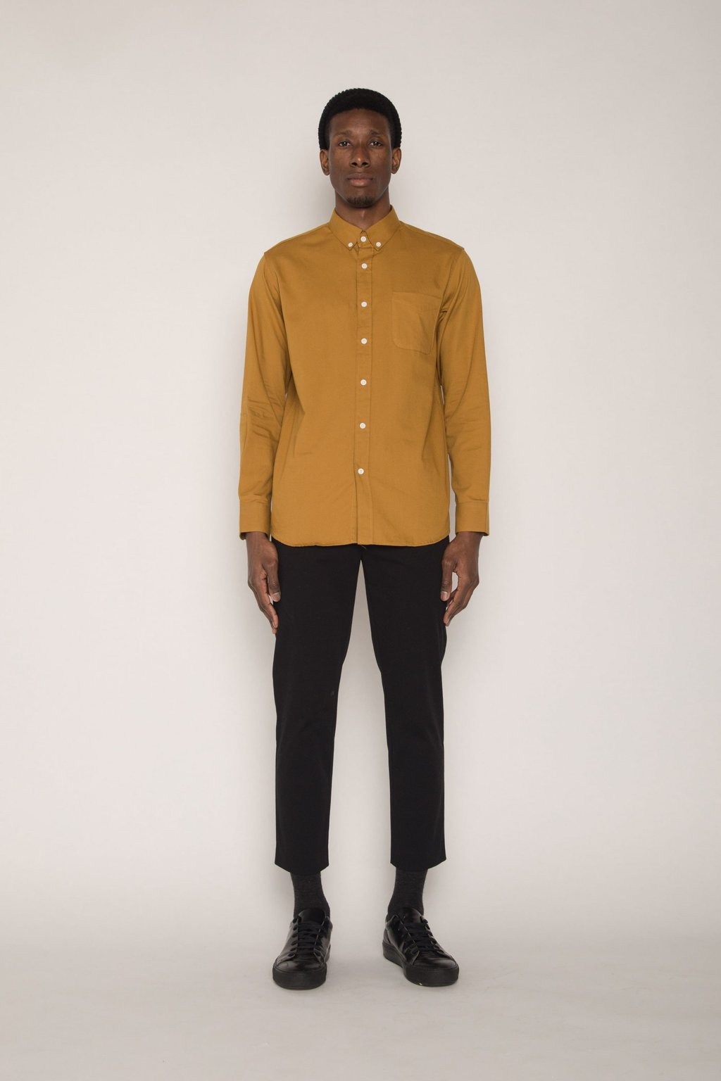 Shirt H059 Mustard 3