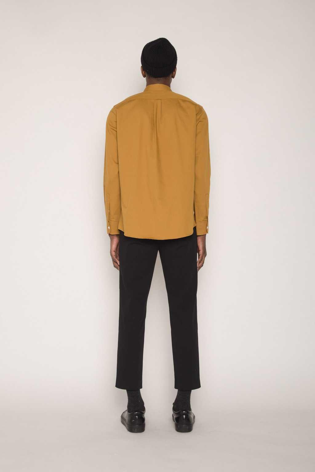Shirt H059 Mustard 4