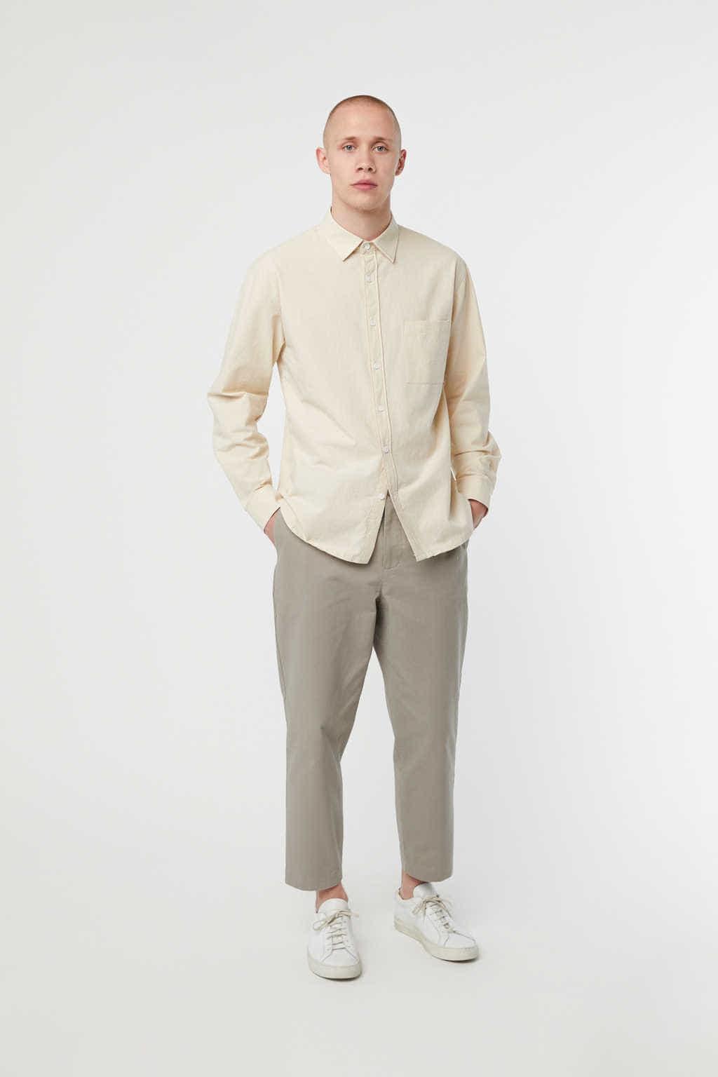 Shirt K001 Cream 1