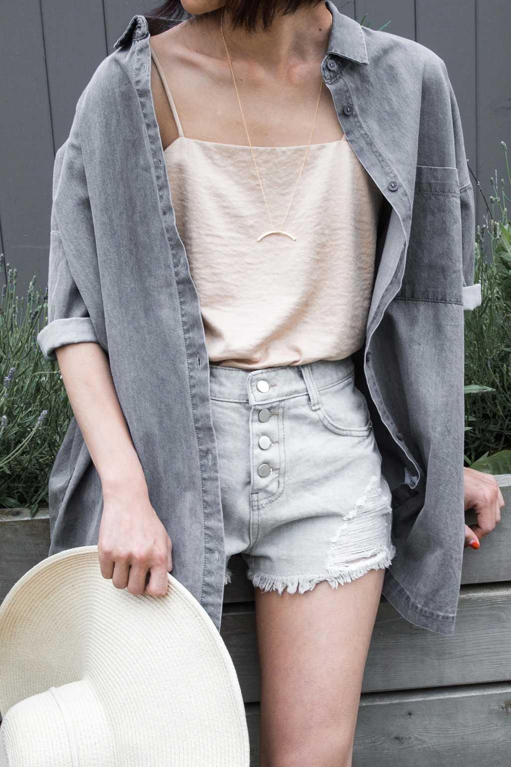 Short H016 Gray 1
