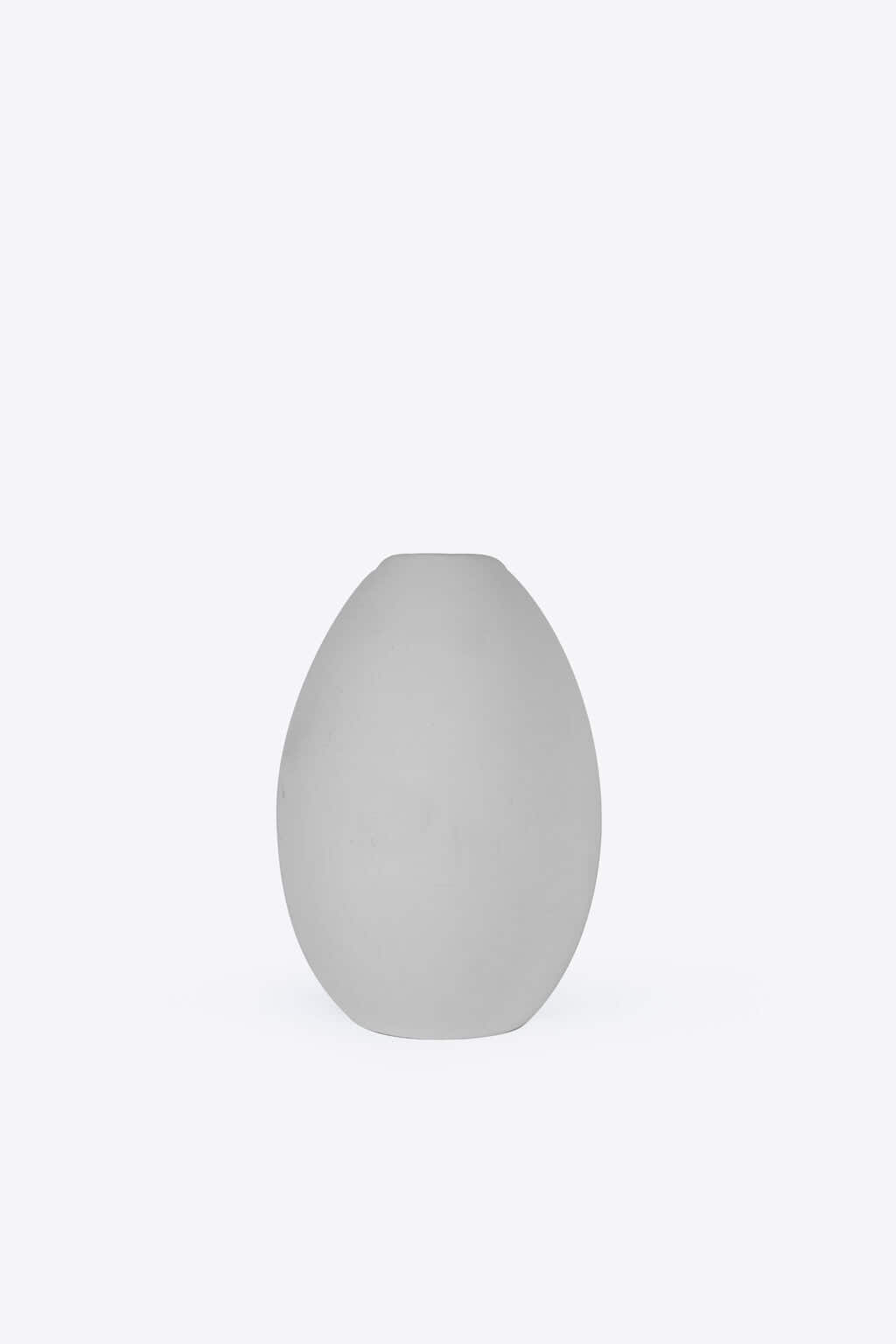 Short Oval Vase 3131 Gray 2