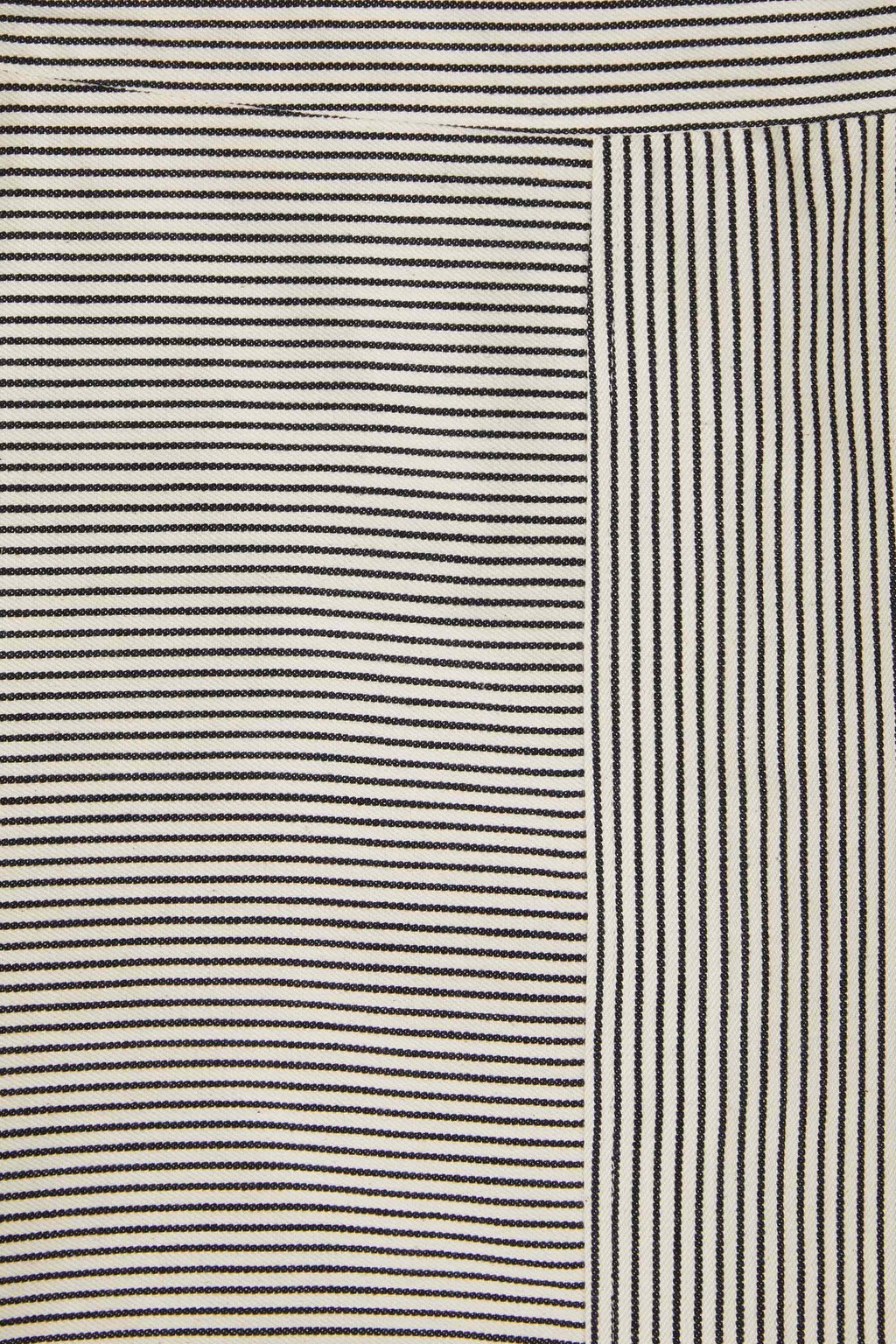 Skirt 3433 White Black Stripe 6