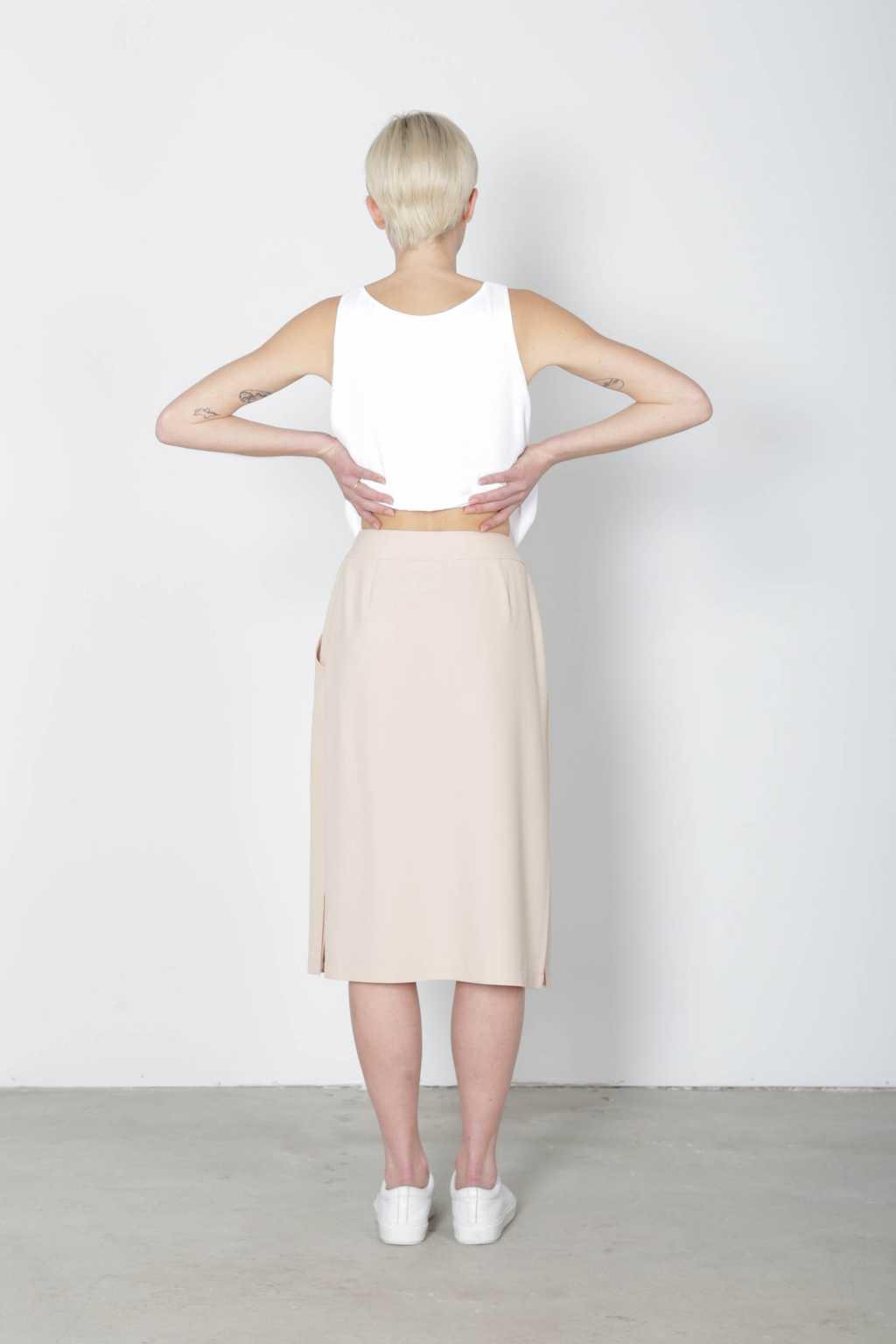 Skirt 6032 Beige 4