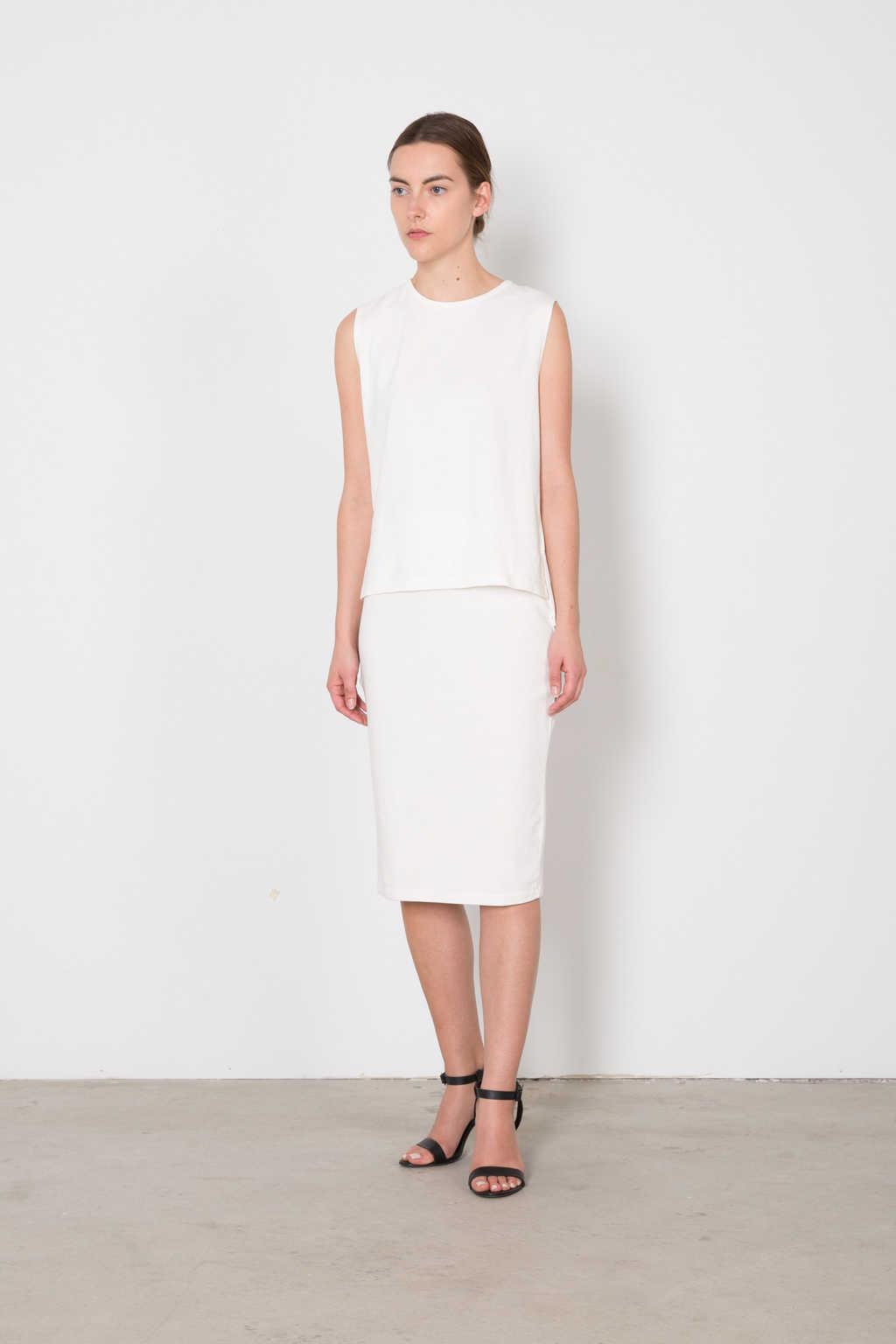 Skirt 6039 White 1