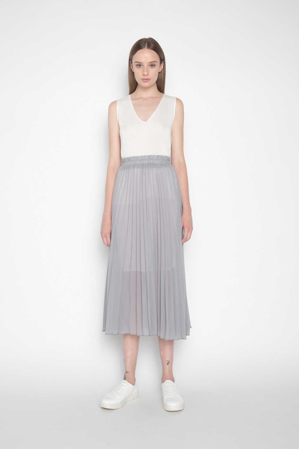 Skirt H045 Gray 1