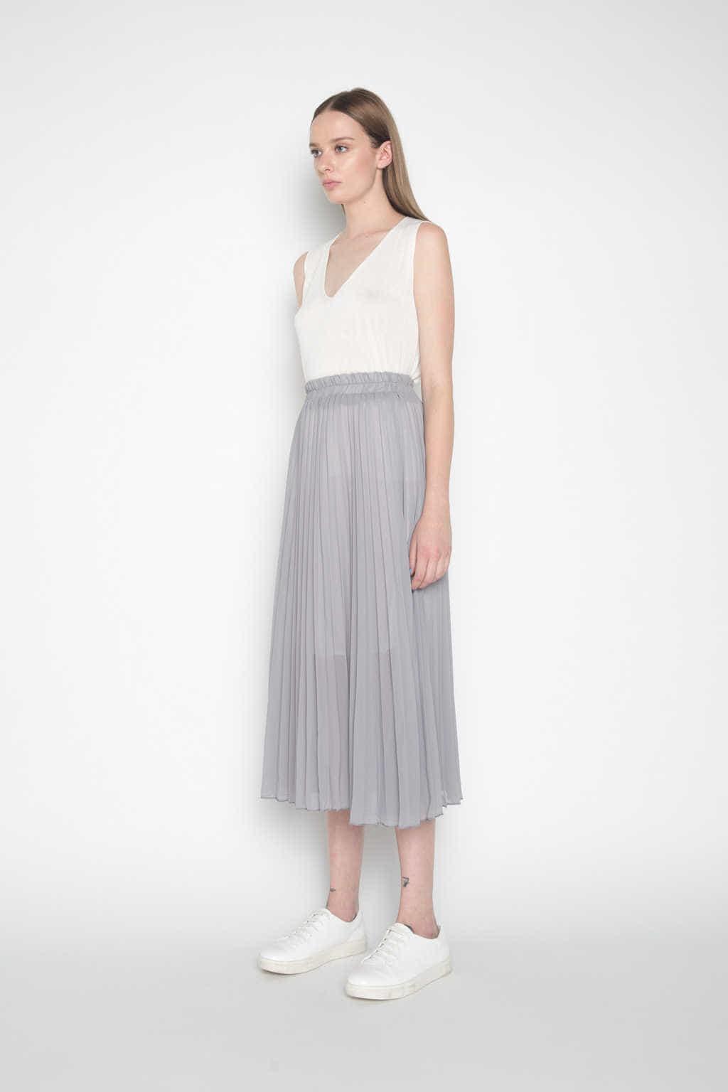 Skirt H045 Gray 2