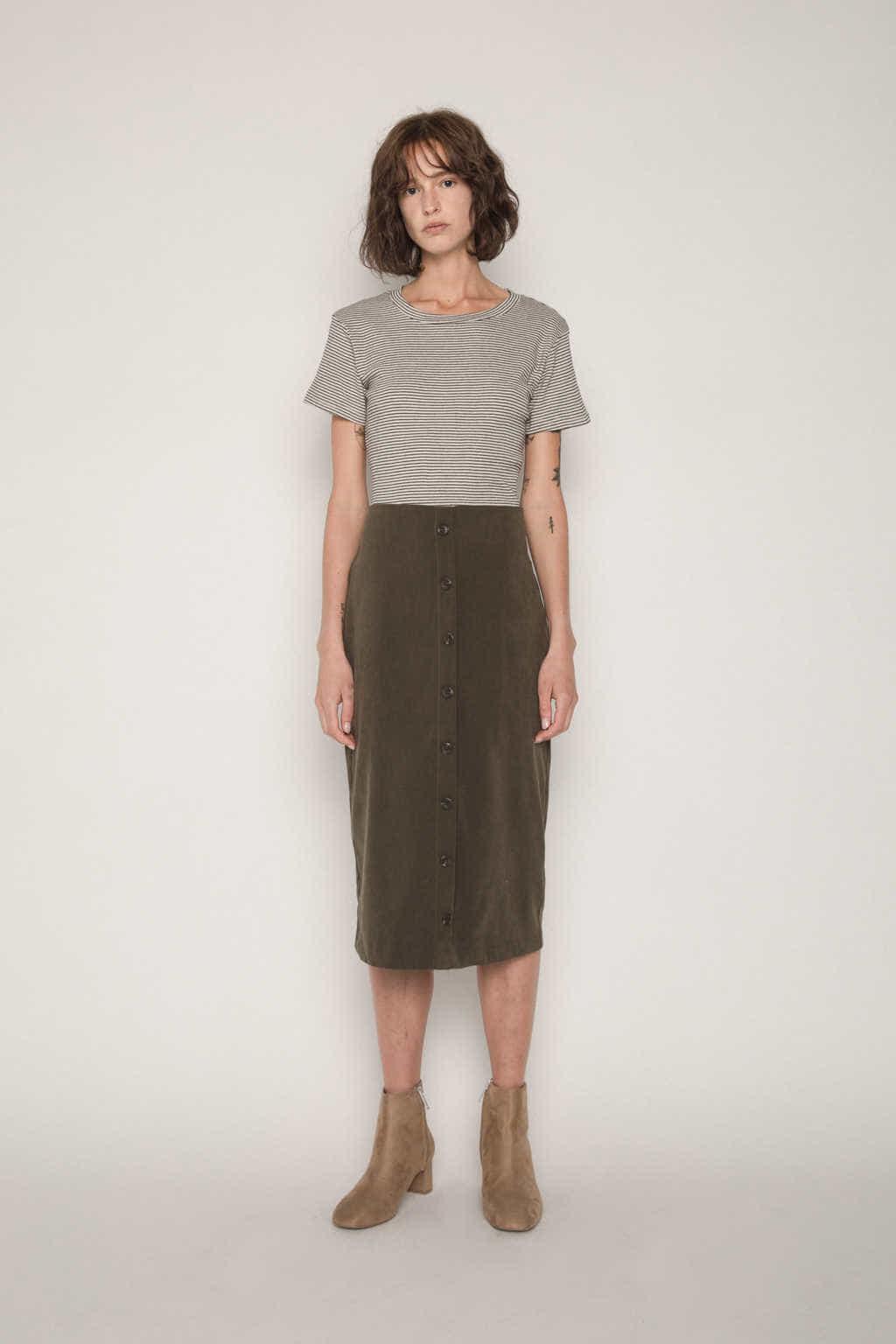 Skirt H112 Olive 1