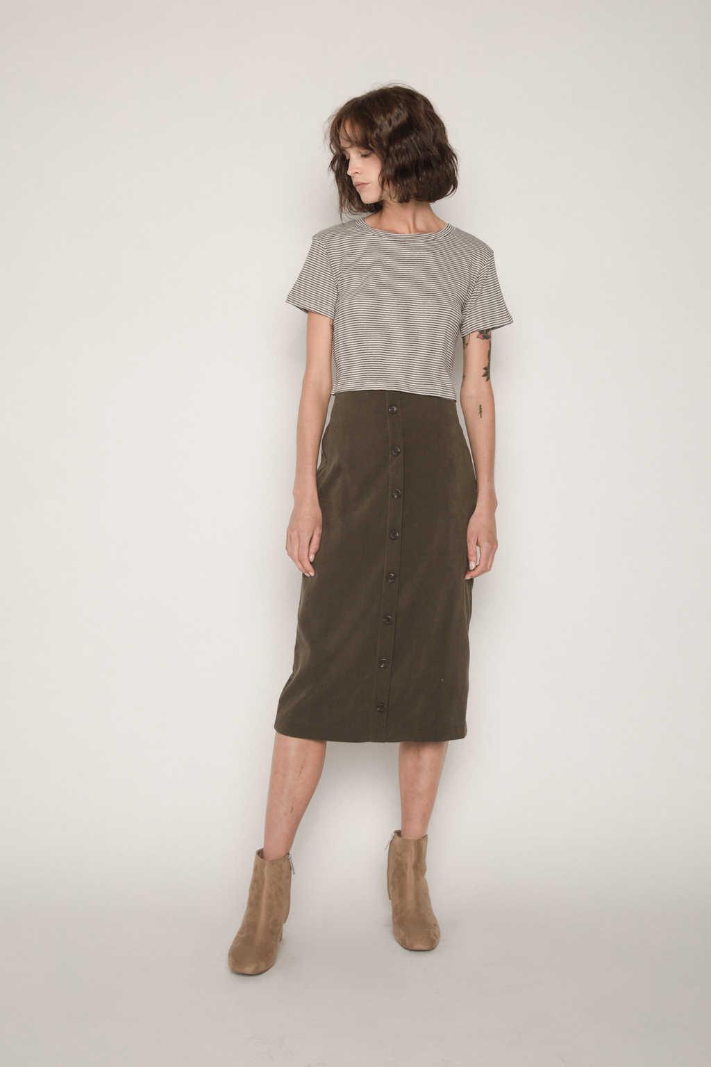 Skirt H112 Olive 3