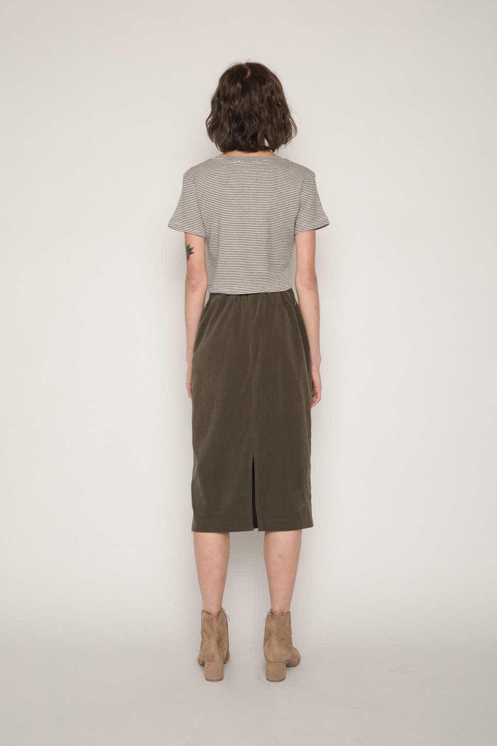 Skirt H112 Olive 4