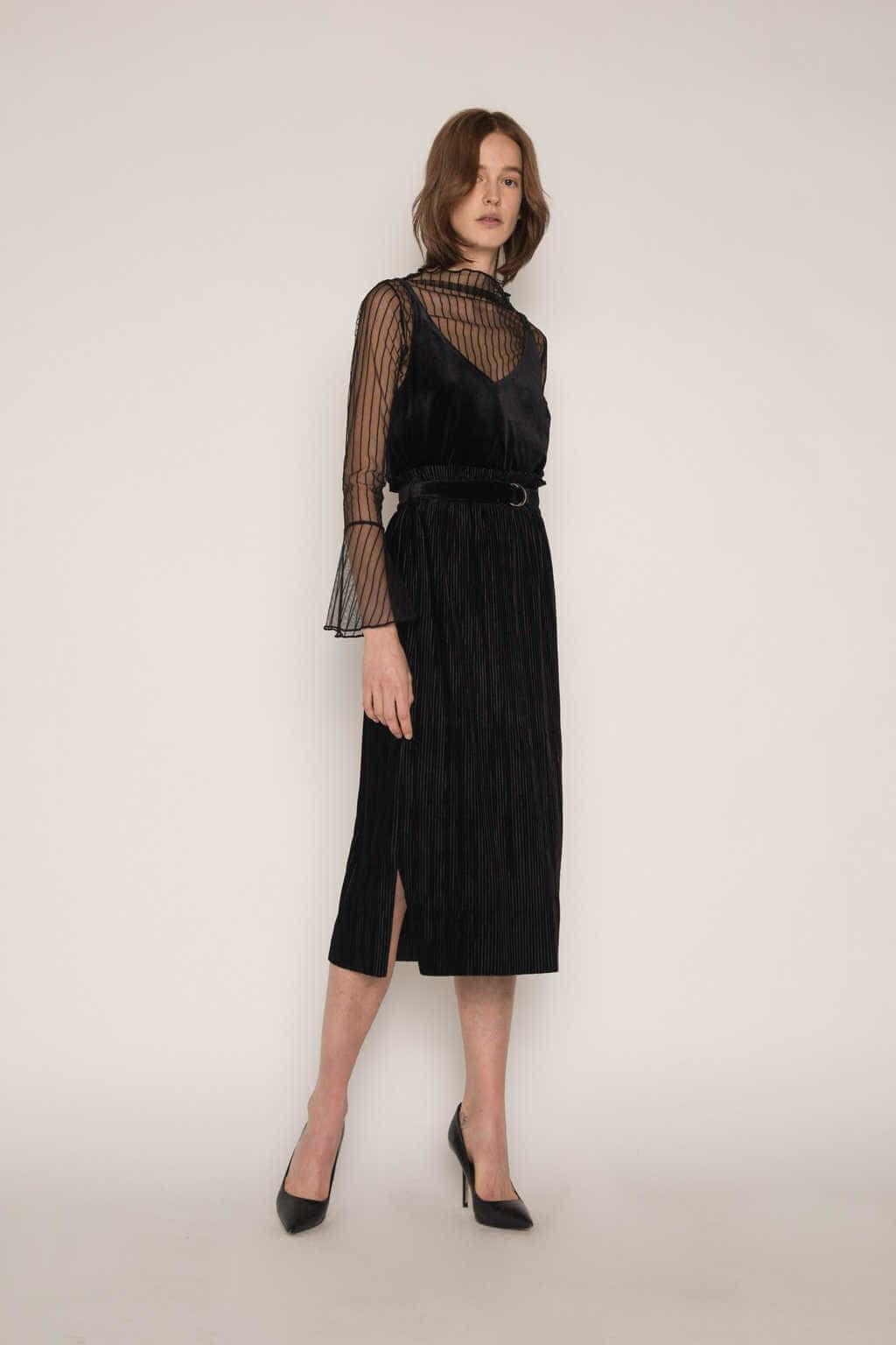 Skirt H141 Black 3